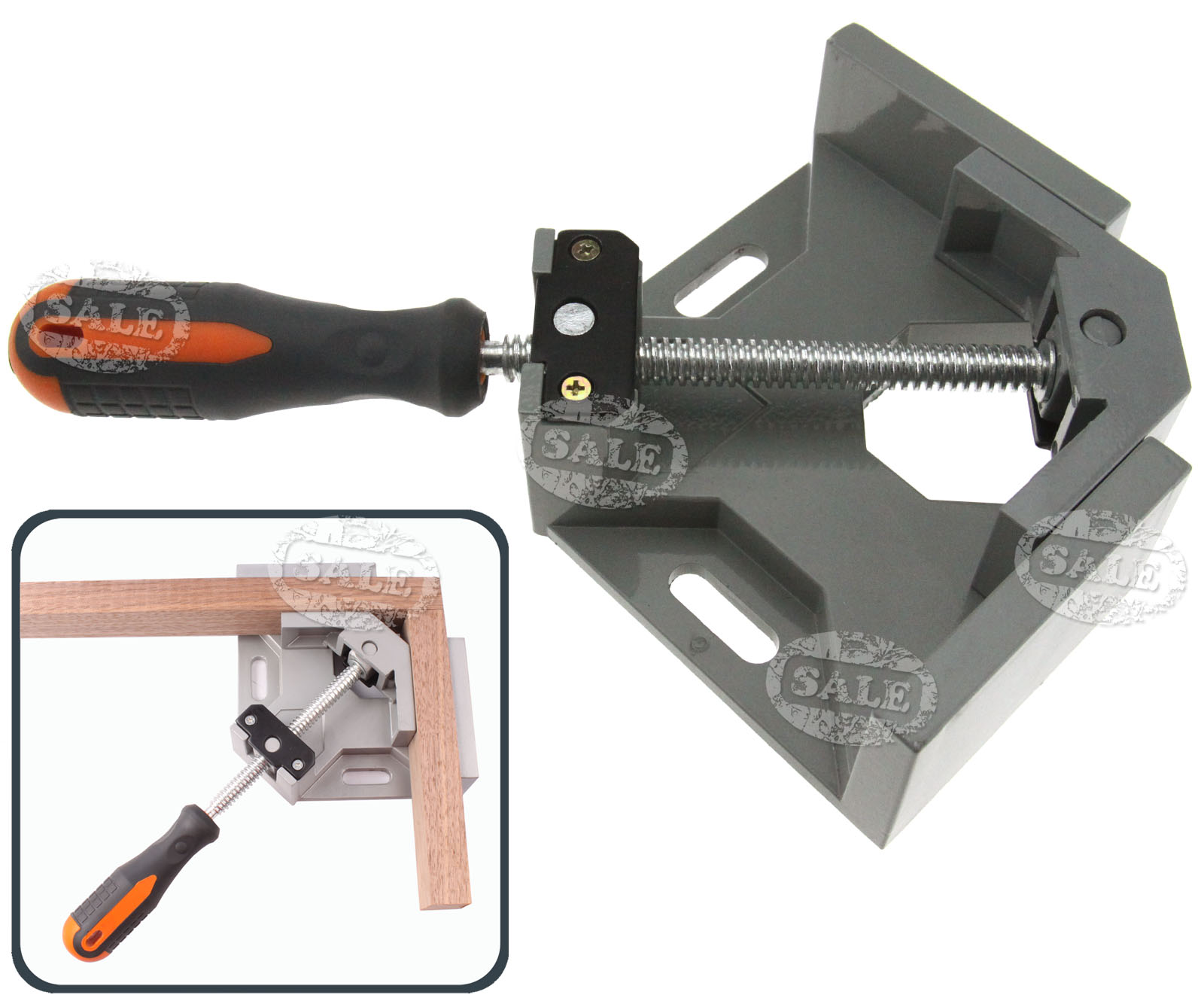 ° right angle corner clamp wood metal welding