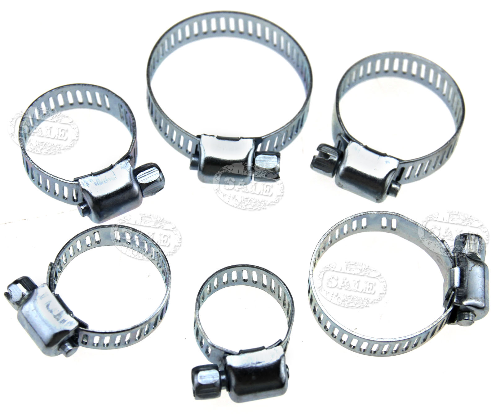 Pcs stainless steel different size hose clamp worm drive