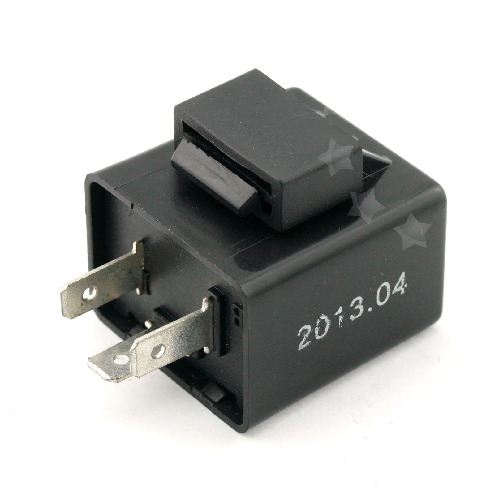 pro 12v flasher 3 pins relay black for motorcycle. Black Bedroom Furniture Sets. Home Design Ideas