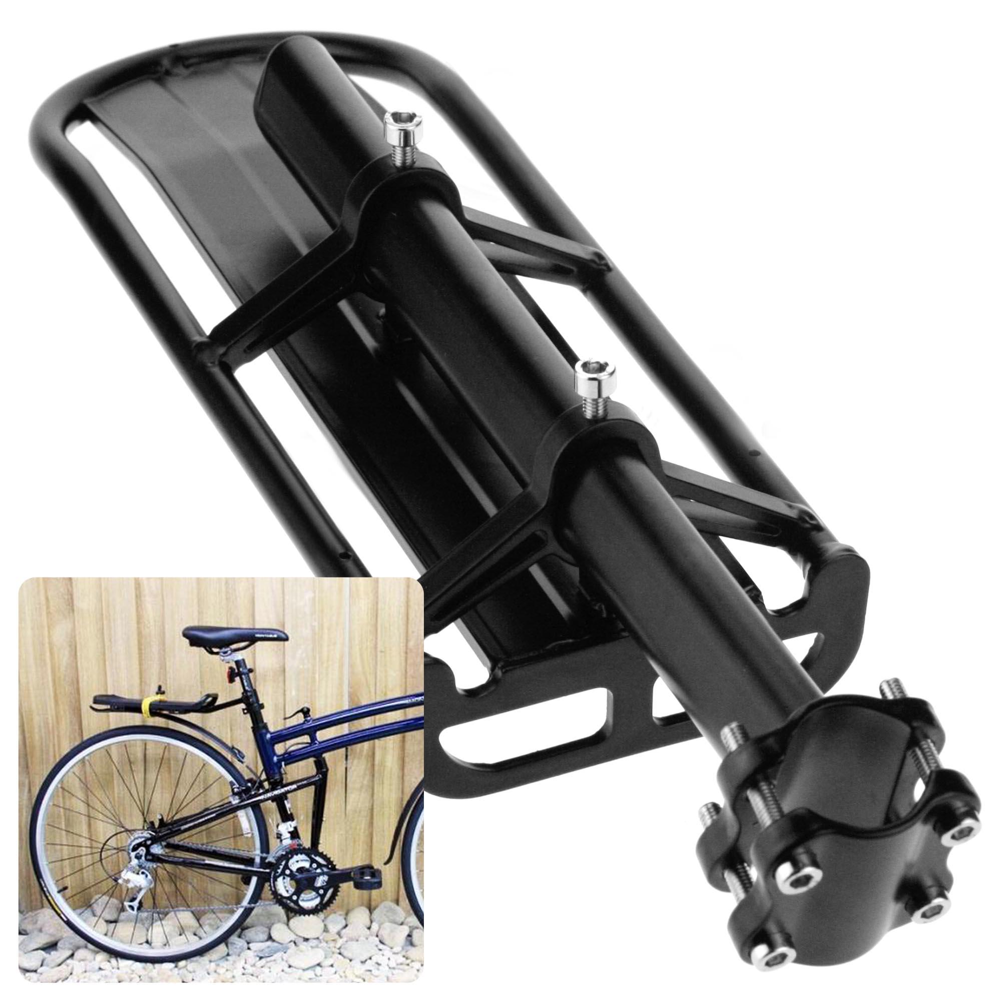 Extendable Bike Rack : Bicycle bike cycle mount aluminum seat post rear