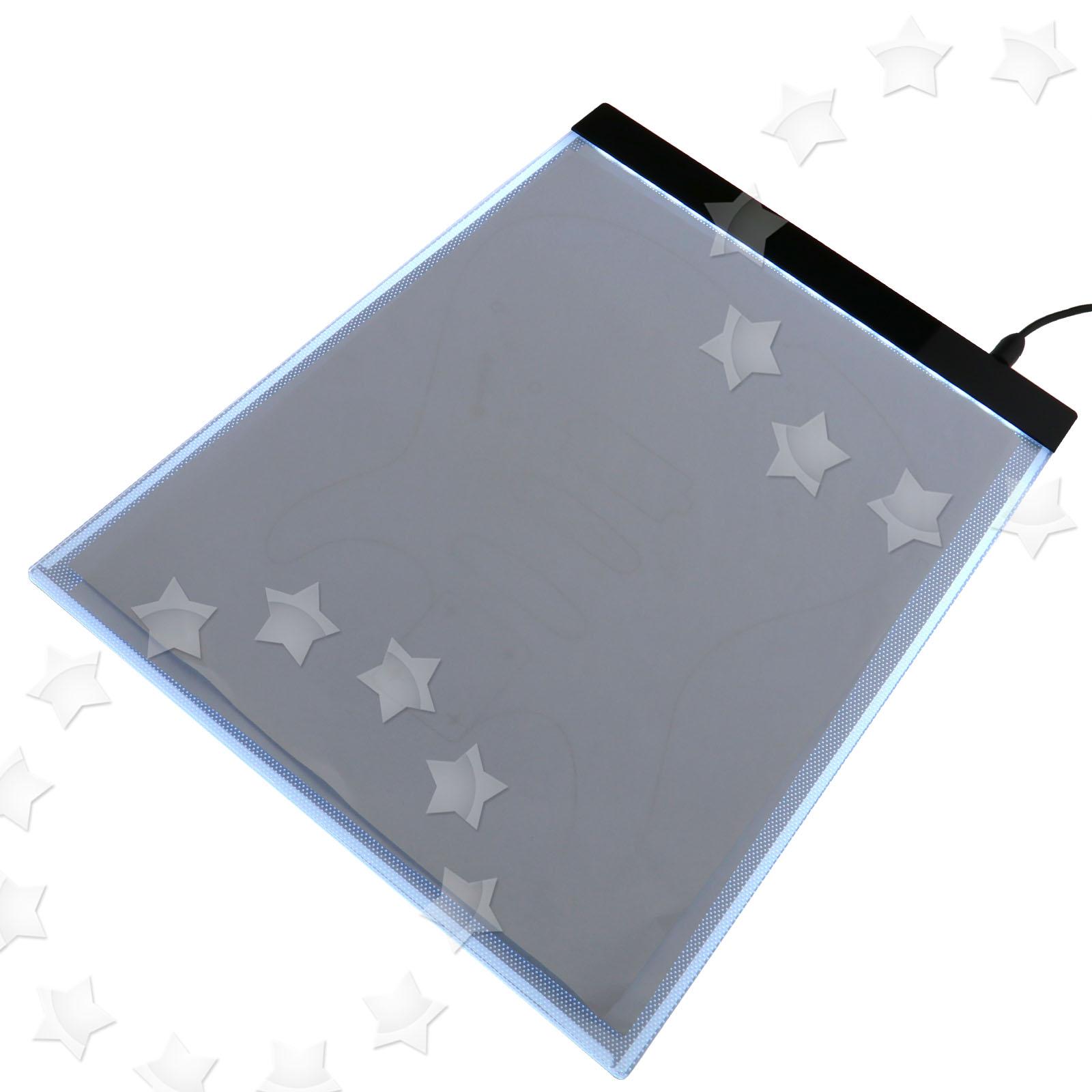 Craft light box for tracing - A4 Led Ultra Slim Art Craft Drawing Tracing Tattoo Light Box Pad Board Lightbox