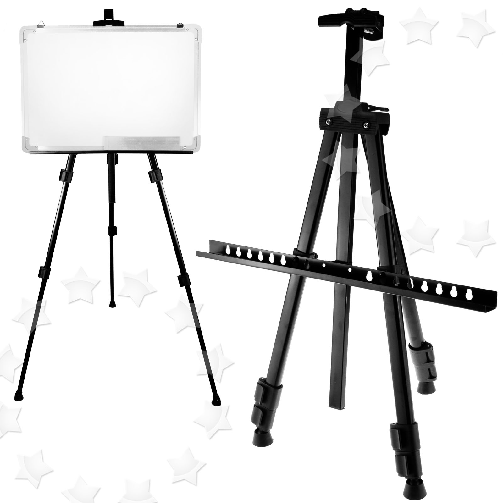 ARTIST FIELD STUDIO EASEL DISPLAY PAINTING WHITE BOARD
