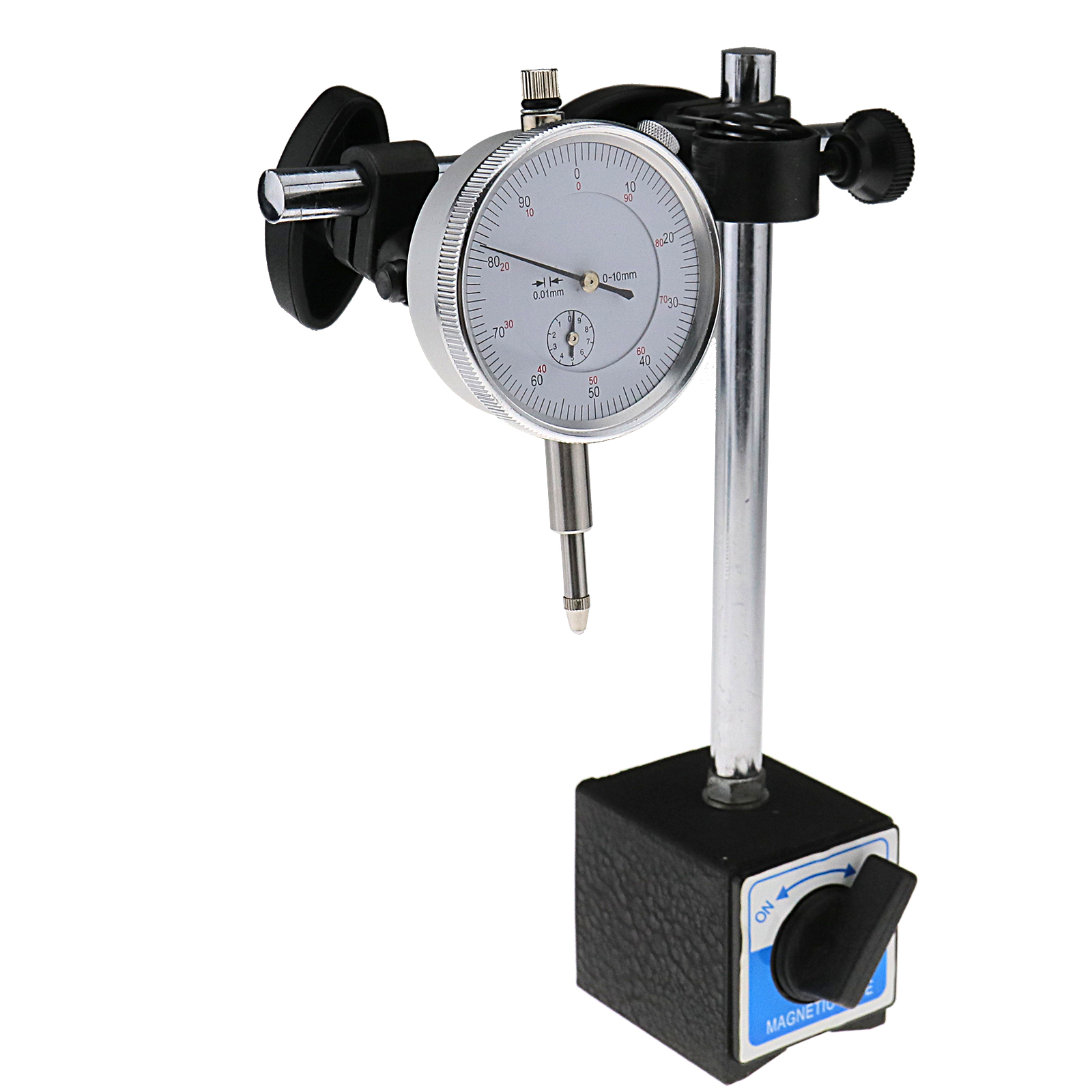 Magnetic Boom Arm : Heavy duty dti stand w magnetic base dial test indicator