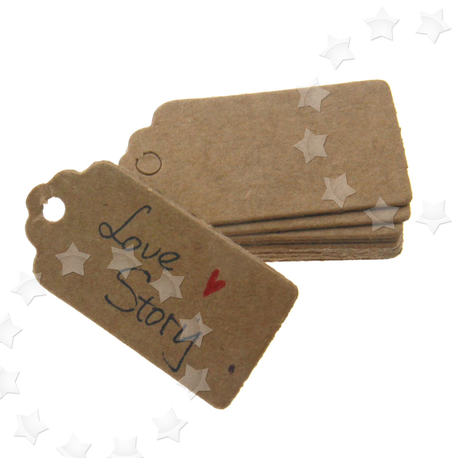 ... Paper Hang Tags Gift Price Party Wedding Label Cards 4 2cm eBay