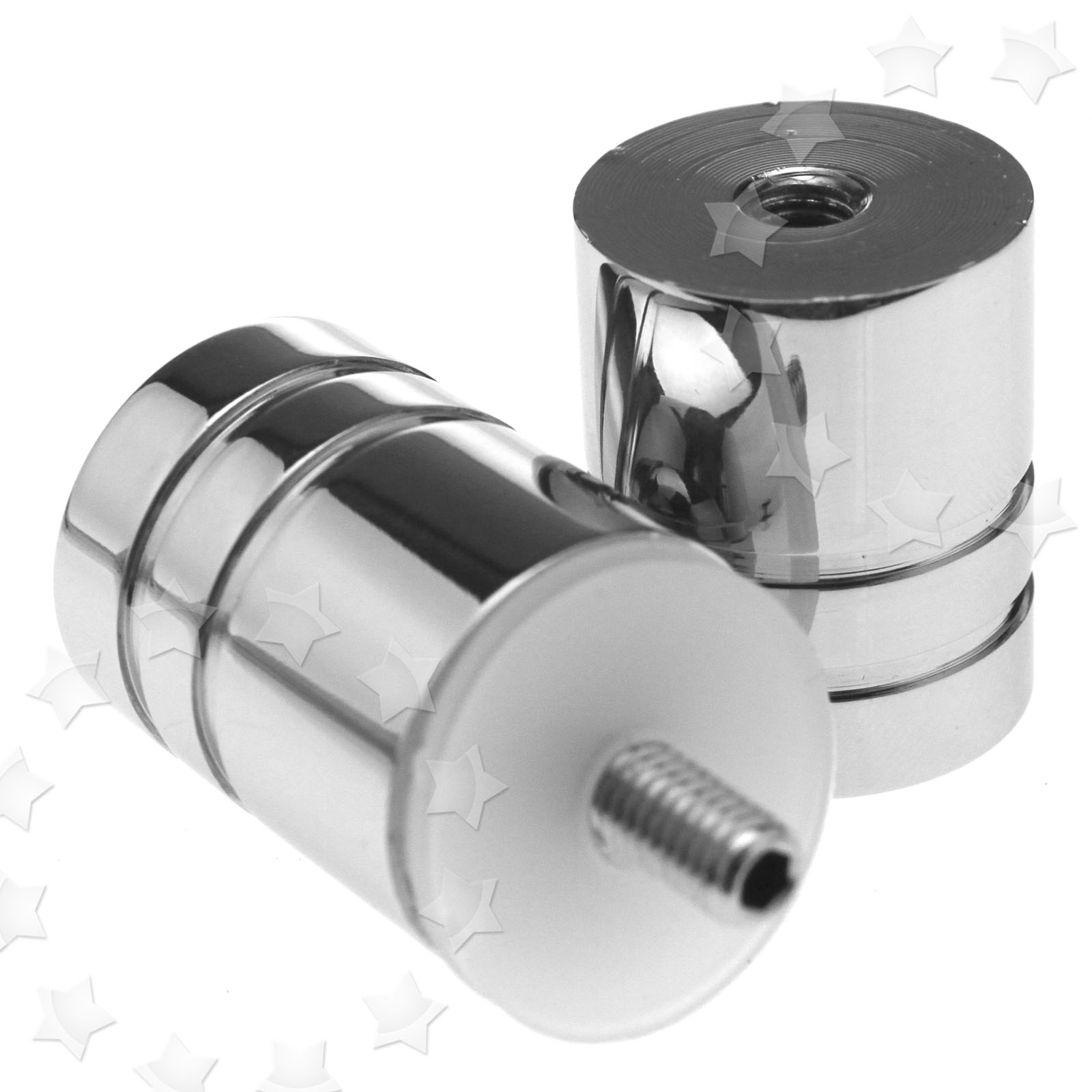 Bathroom Shower Knobs: Shower Door Handle Knob Single Groove Chrome Plated Home