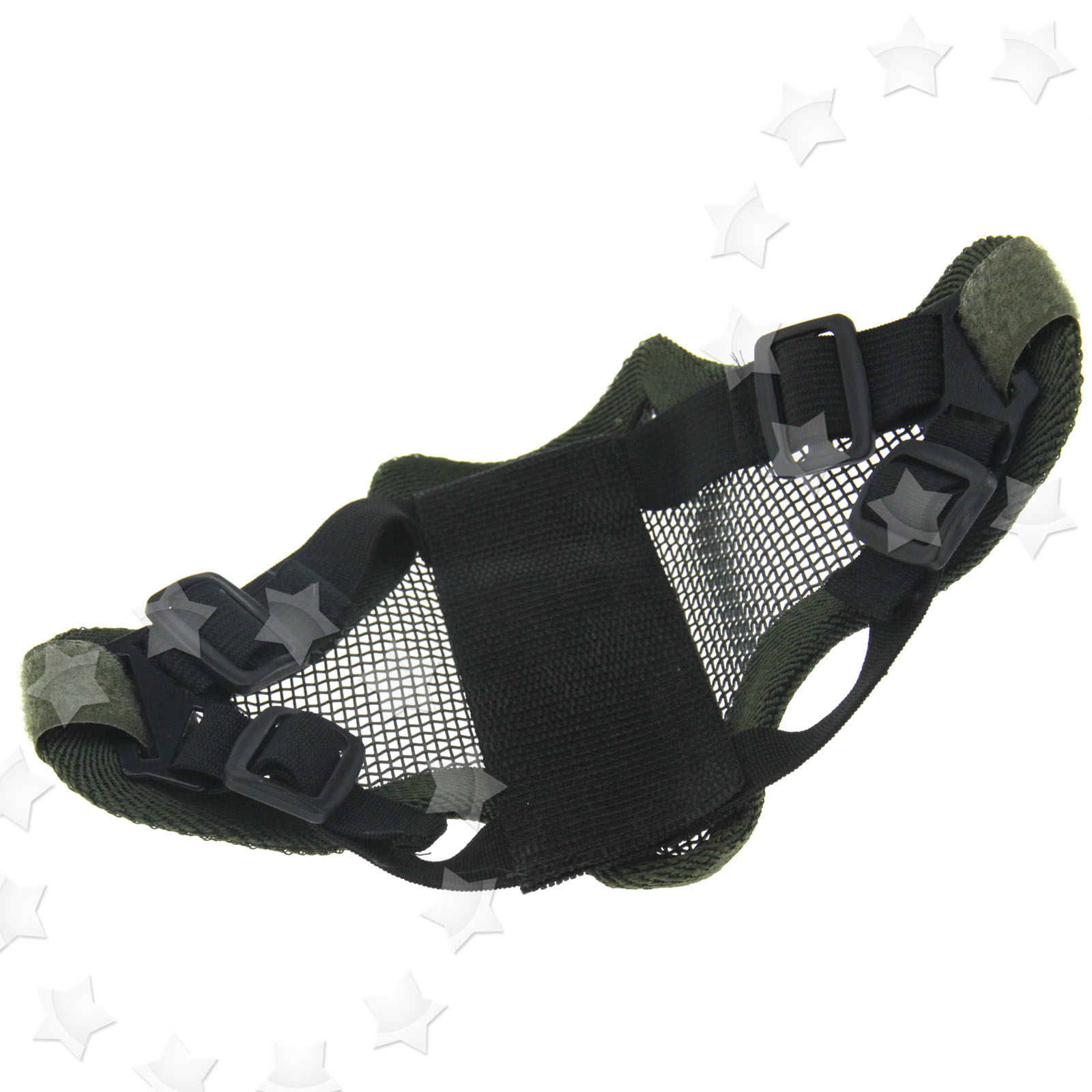 Half Face Protection Mask Paintball Airsoft Mask Tactical Ghost ...