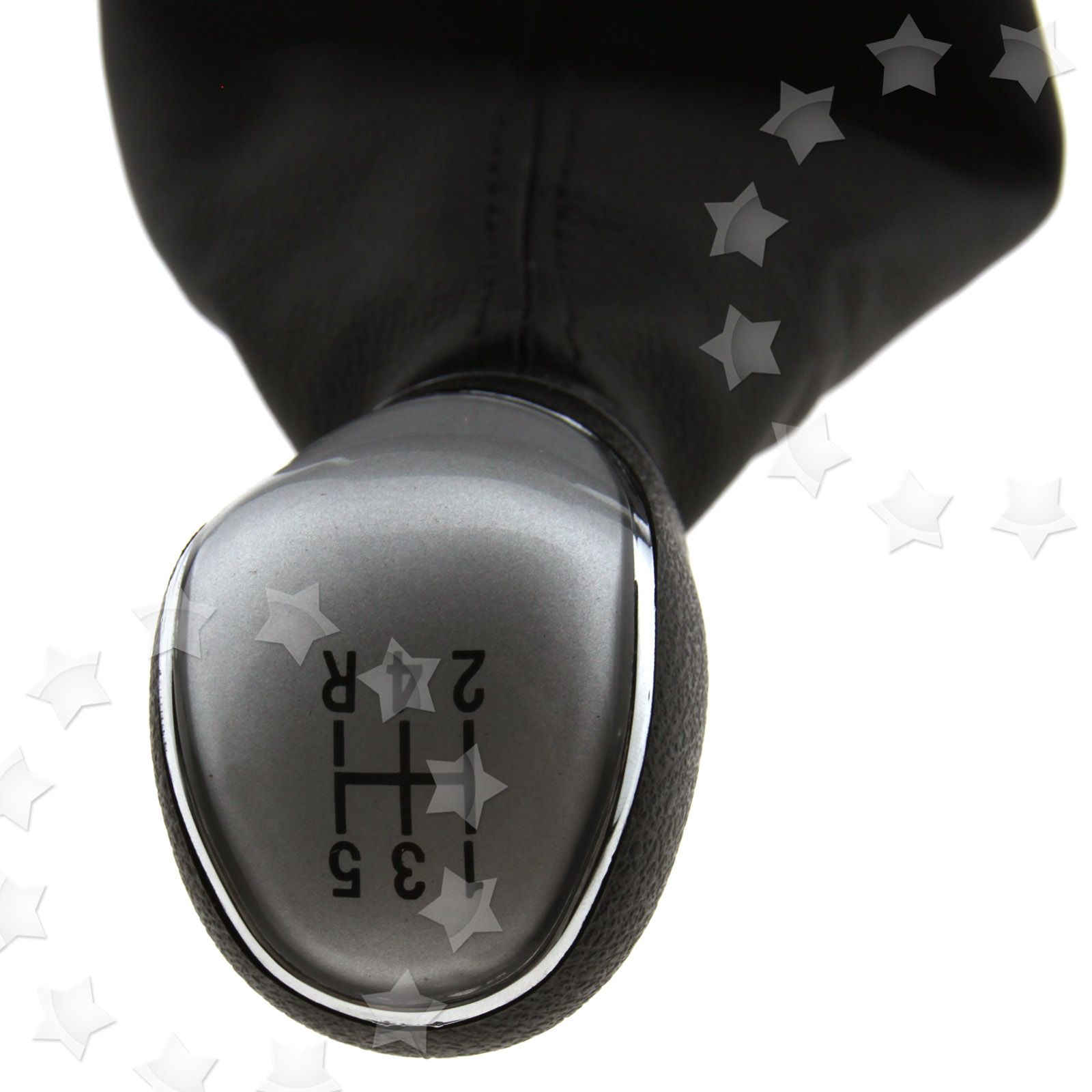 Gear Shift Lever Boot : Speed gear shift knob stick lever gaiter boot cover for
