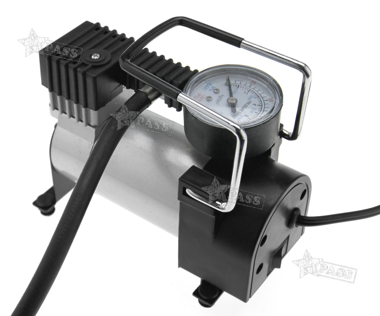 new portable auto tire inflator car tyre air compressor pump 12v 100psi ebay. Black Bedroom Furniture Sets. Home Design Ideas