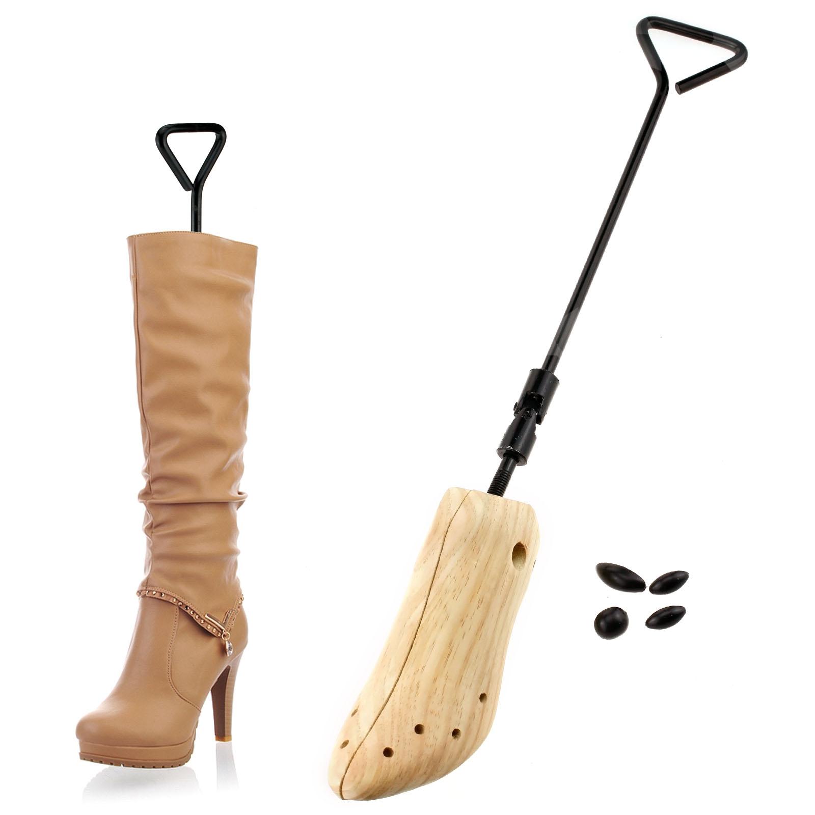 uk size 4 7 pine wood tree boot shoe 2 way