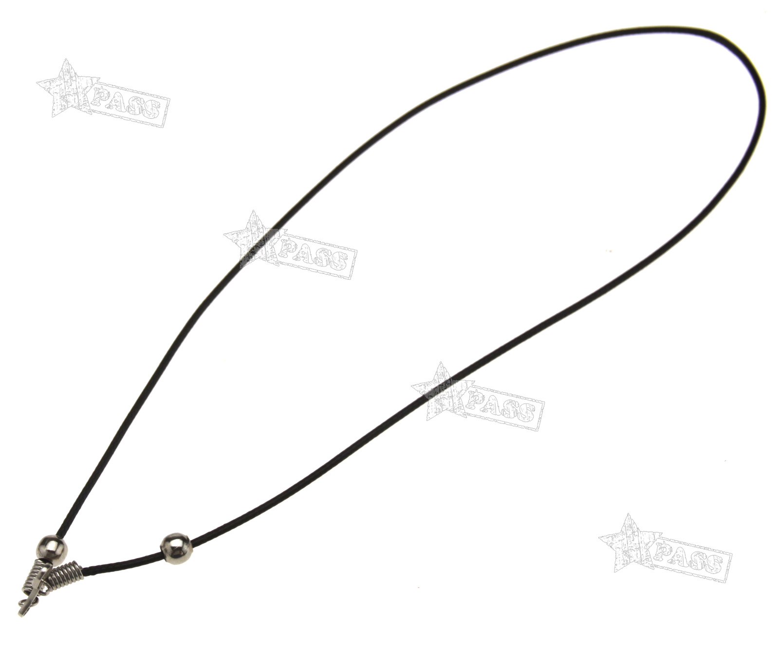 25 x black waxed cotton necklace 1 5mm cords 18 quot wholesale