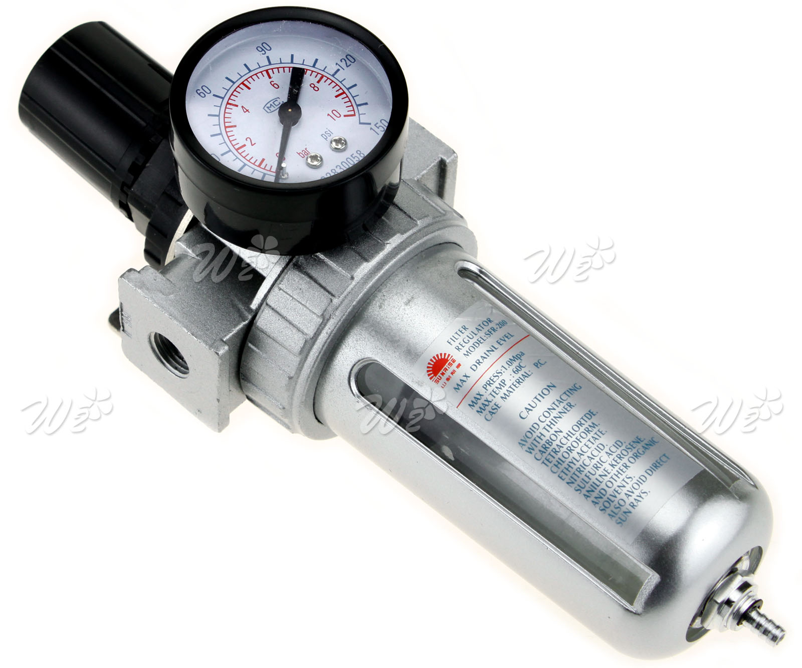 150ml Water Compressor Trap Alloy Air Line Filter
