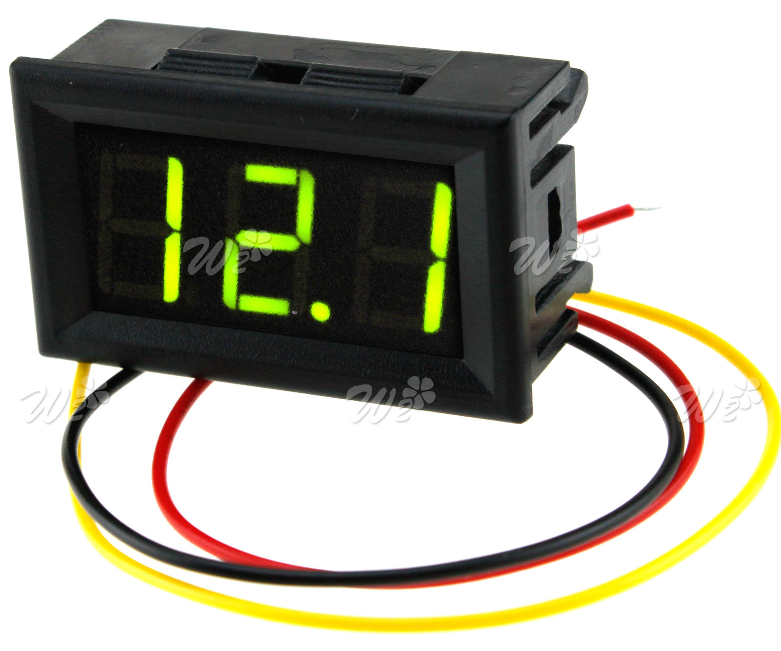 0 99v Green Led Digital Display Volt Meter