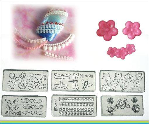 30 different 3d acrylic nail art tips mold diy decoration for 3d acrylic nail art mold diy decoration