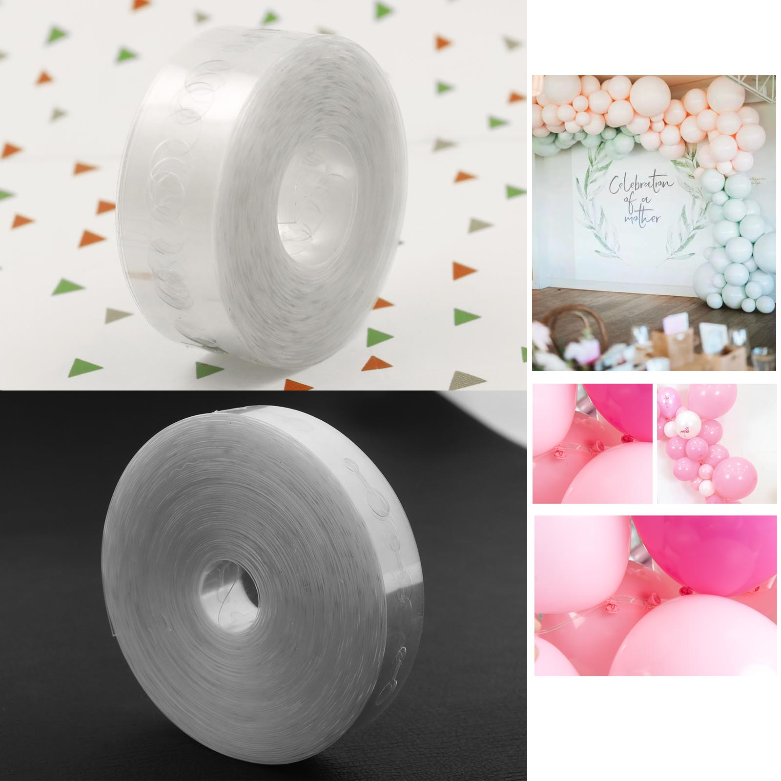 20M Balloon Connect Chains PVC Wedding Party Birthday Xmas Baby Shower DIY