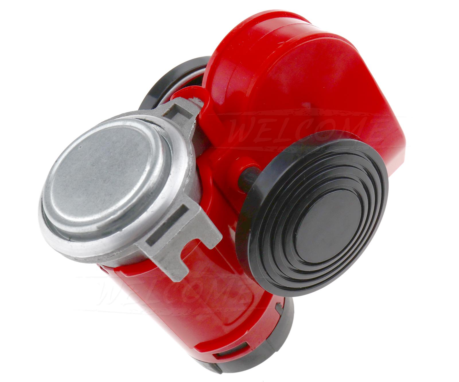 Car Air Horn 12v 136db Blast Compact Twin Tone Loud Horns