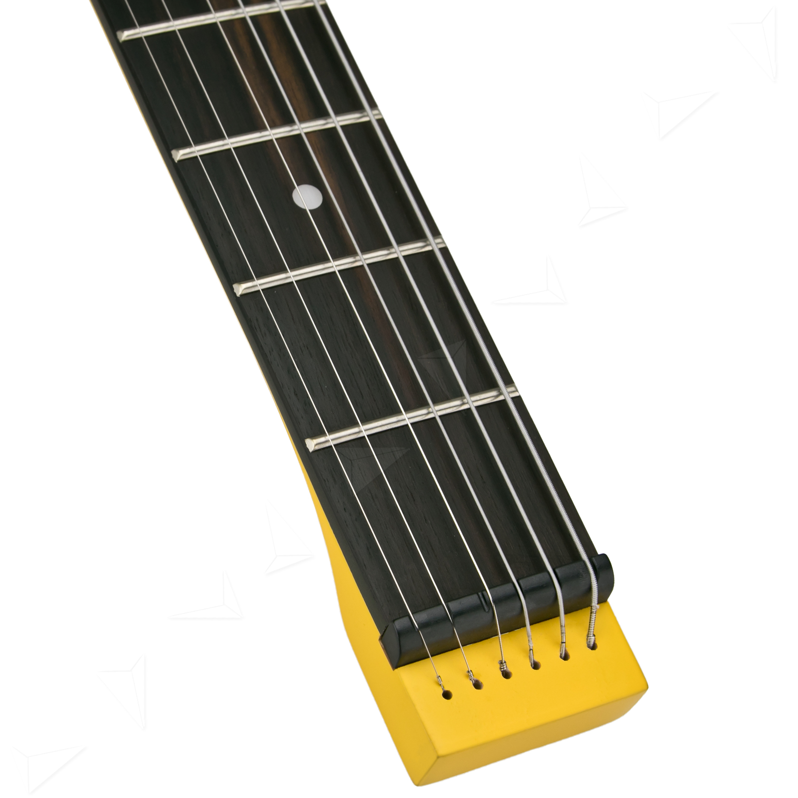 anygig age 24 frets 648mm electric guitar full scale matte corvette yellow ebay. Black Bedroom Furniture Sets. Home Design Ideas