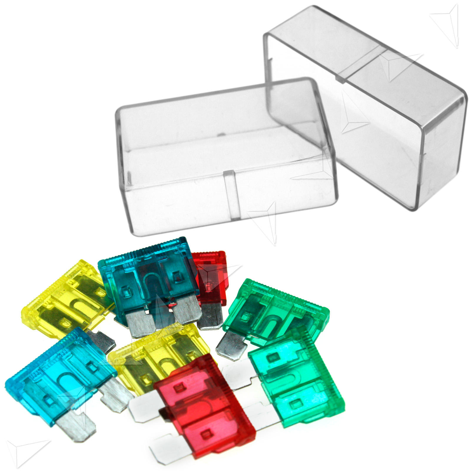 12 24v Universal Car Truck 8 Way Circuit Standard Blade Fuse Box Holder Block