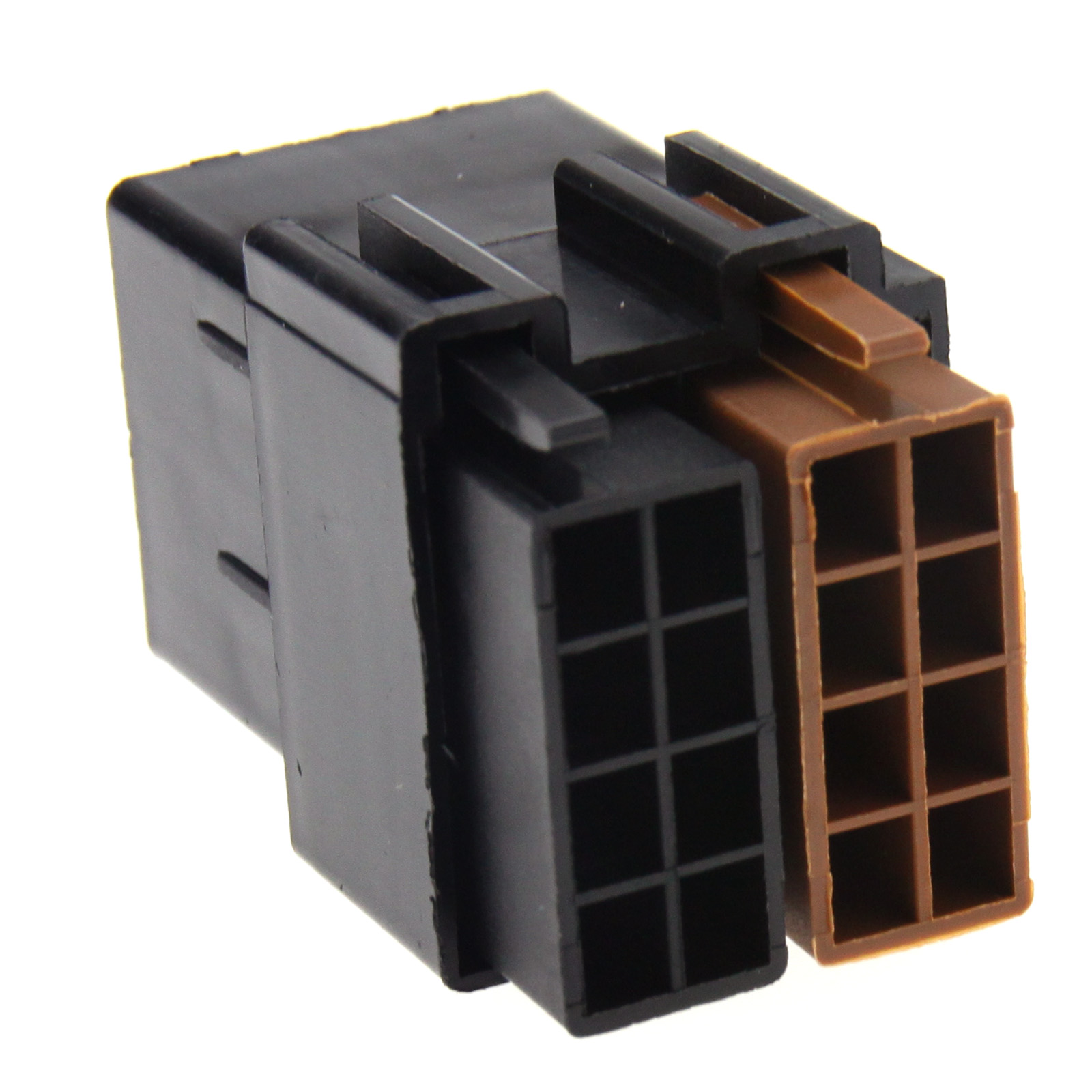 2 X Iso 8 Pin Female Car Stereo Brass Terminal Block Socket Connector Wiring Regulations Loom