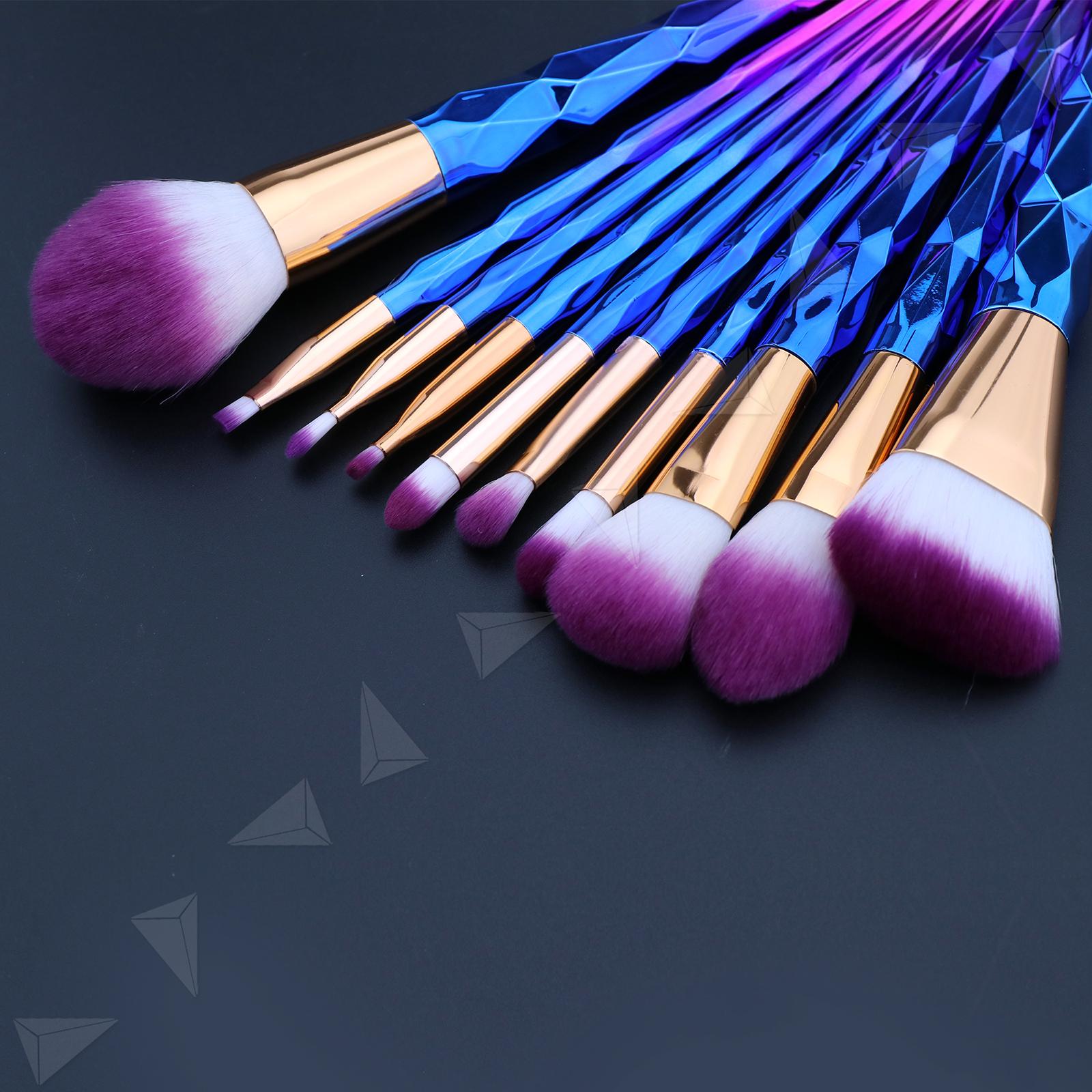 10tlg make up pinsel set kosmetik brushes schminkpinsel cosmetic beauty ebay. Black Bedroom Furniture Sets. Home Design Ideas