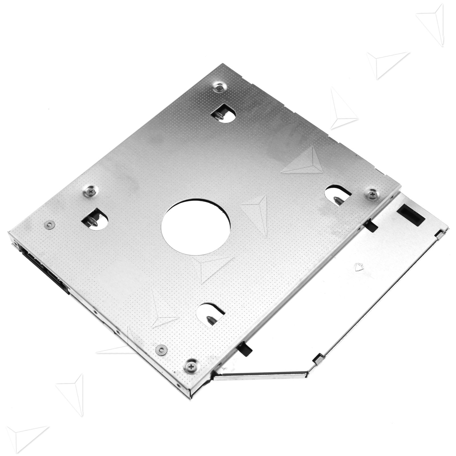 how to connect hard drive caddy