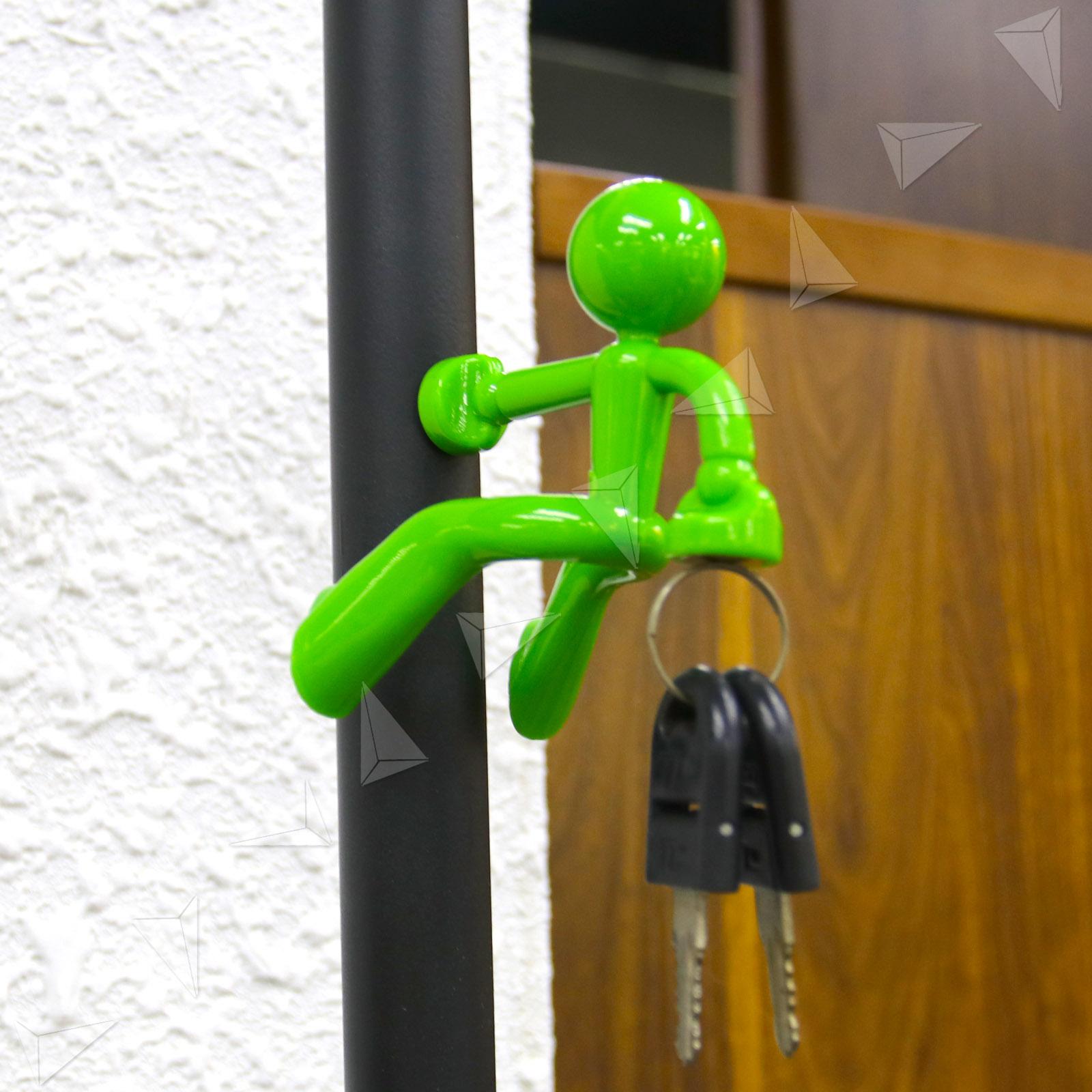 Creative 5 Colors of Little Man Magnet Magnetic Wall Key Hook Door ...