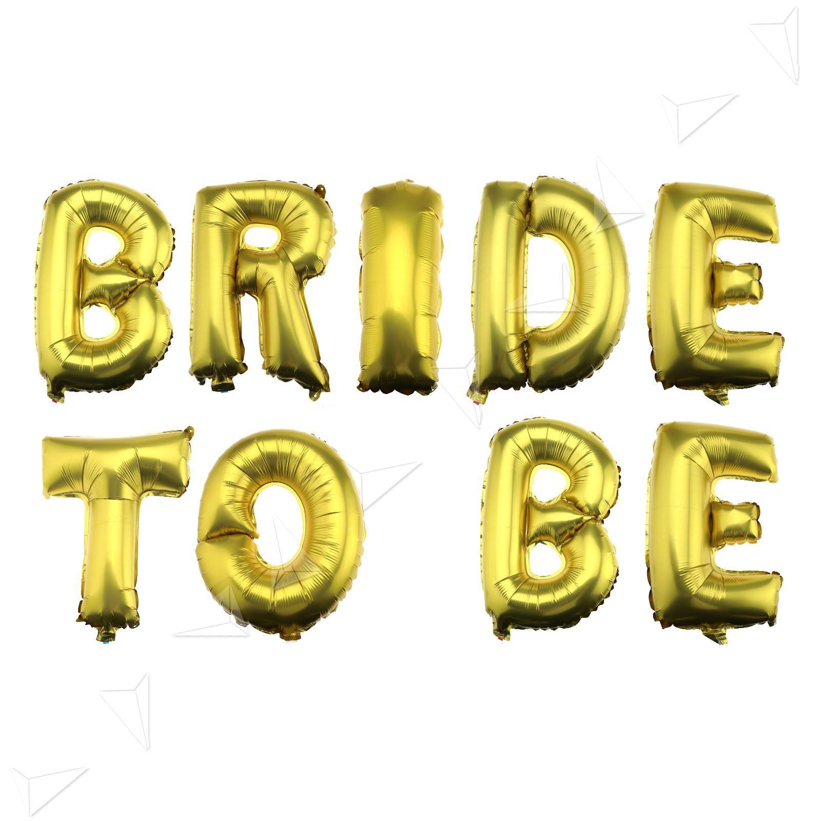 shiny 16 foil balloons bride to be gold letter for wedding bridal hen party