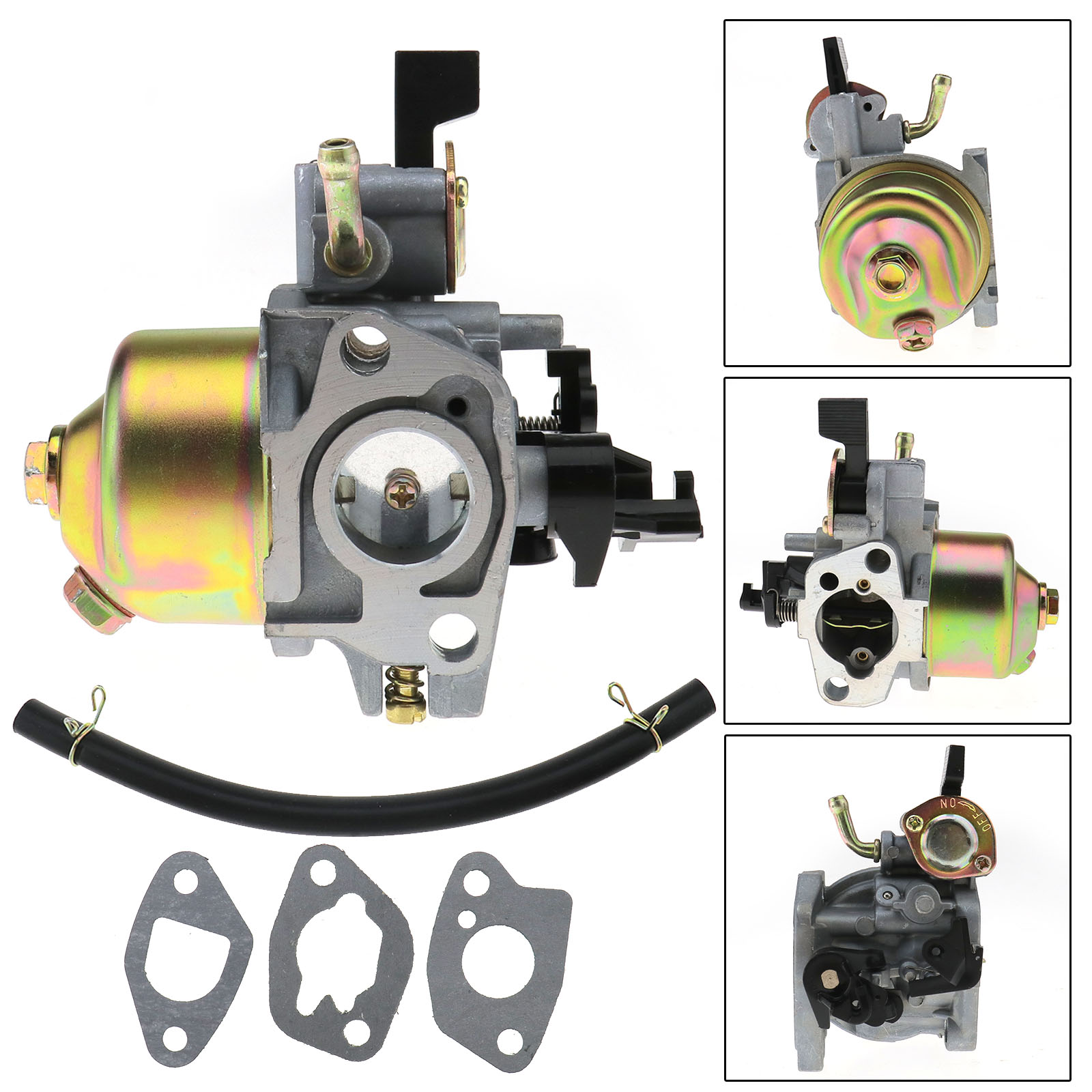 carburetor carburetor carb for honda gxv120 hra194 lawn. Black Bedroom Furniture Sets. Home Design Ideas