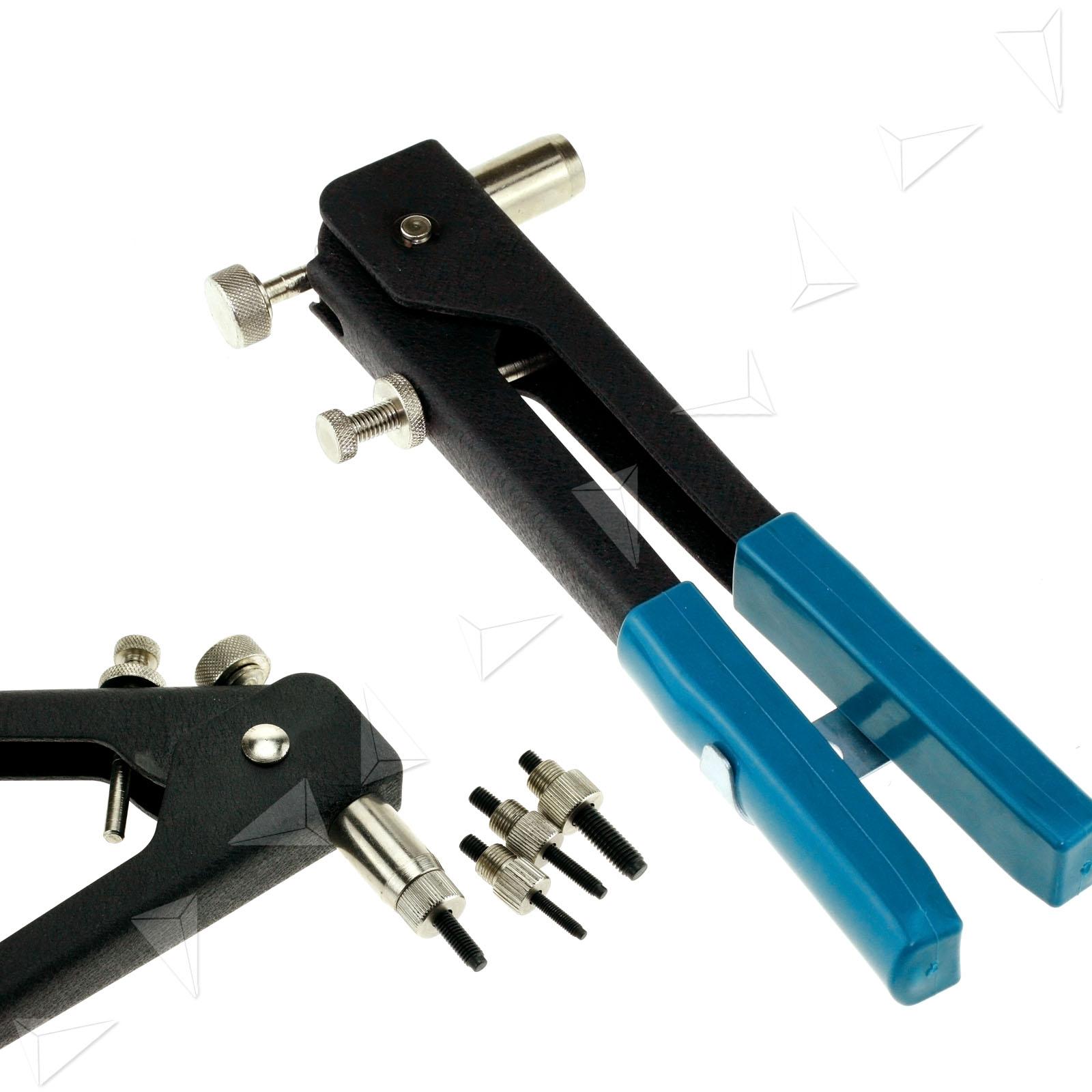 Sheet Metal Rivet Tool : Hand rivet tool threaded riv nut riveter gun rivnut insert