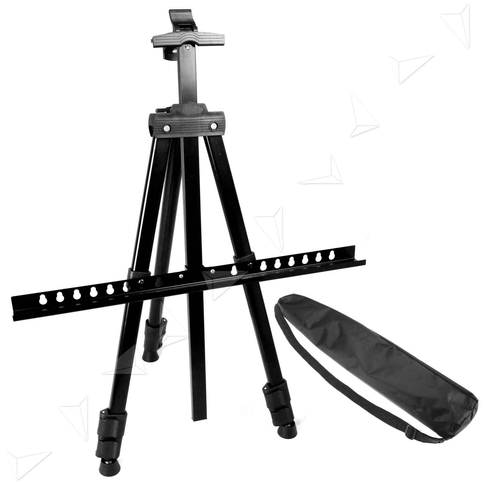 adjustable tripod artist field studio easel display painting white