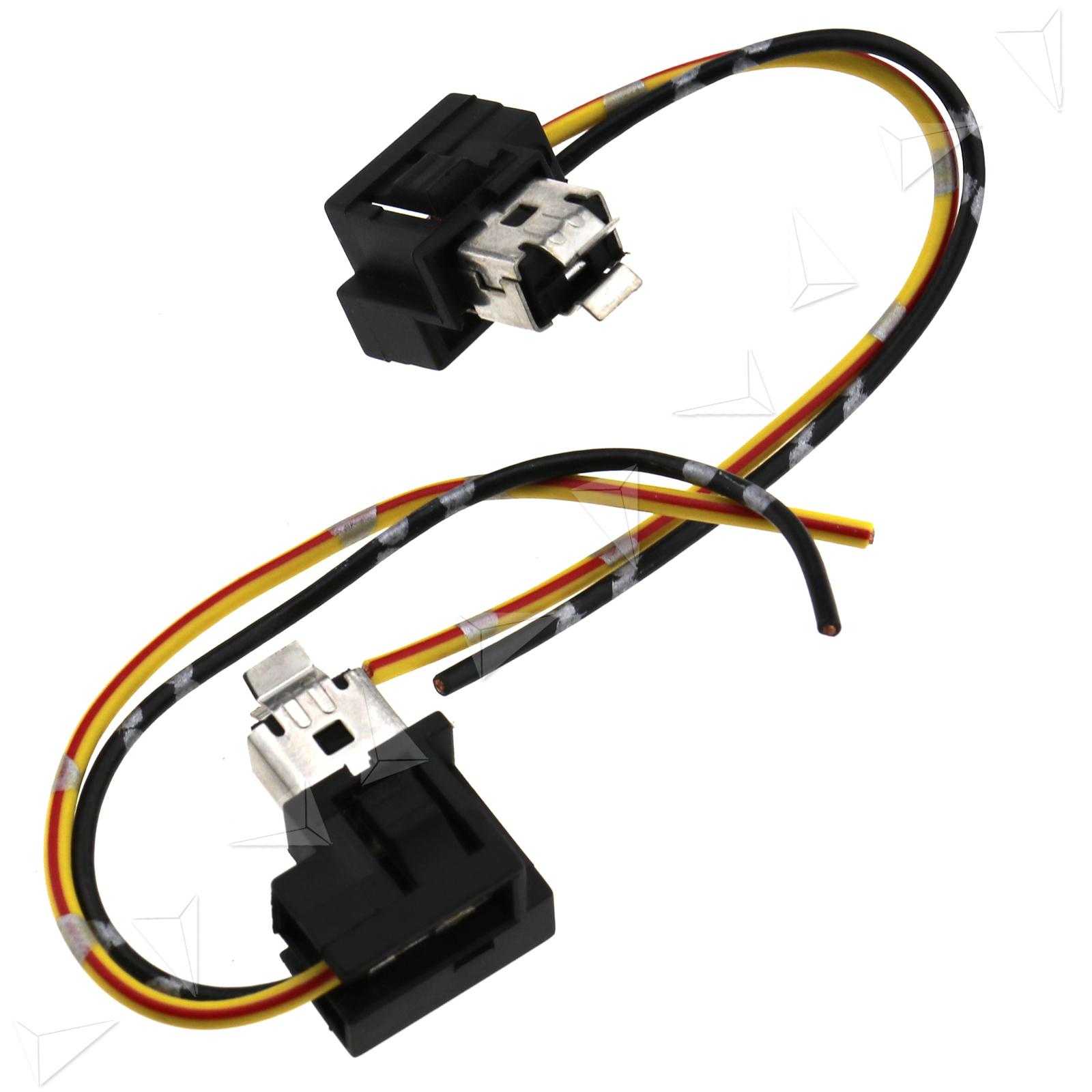 H1 Headlight Fog Lamp Bulb Socket Holder Wiring Connector Plug For Lights To Auto Car