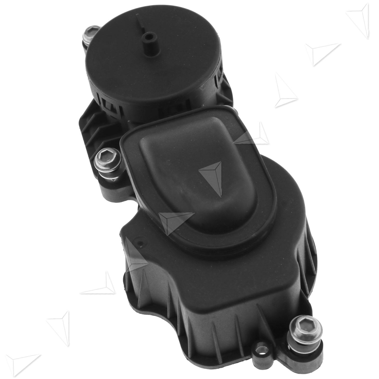 Oil Catch Can Tank Crankcase Oil Separator Valve Filter For E46 E90 X3
