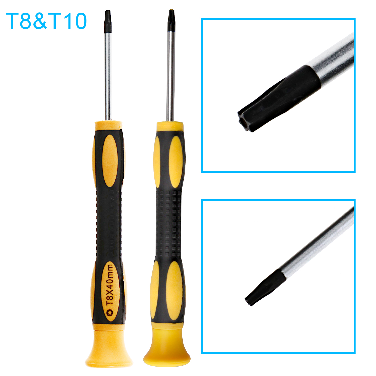 10cm D2D Torx T10 T8 Security Screwdriver for PS3 Xbox 360 Controller Playstation 4