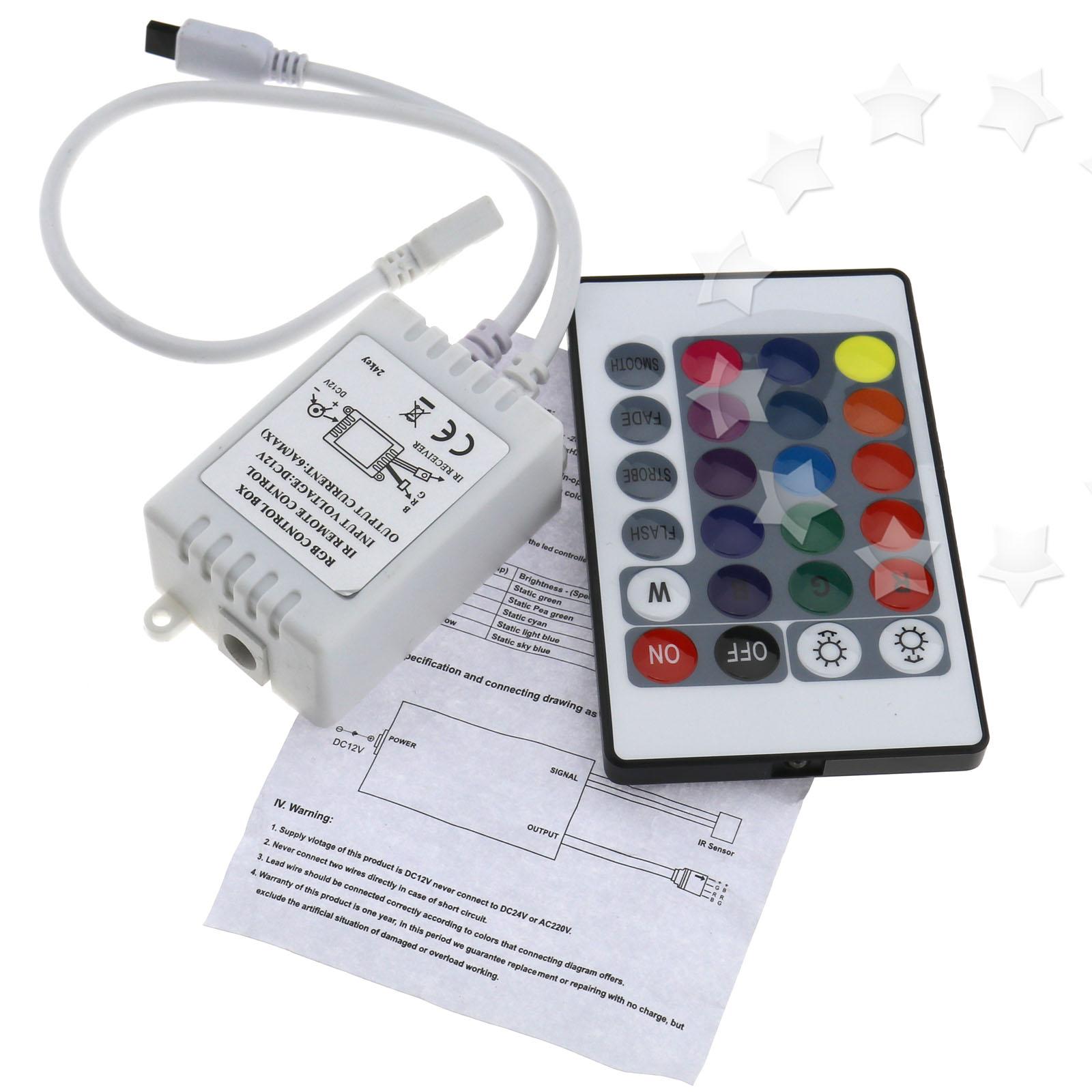 24 Key Control Box Ir Remote Controller For Led Rgb 5050 3528 Strip Irremotecontrolcircuitdiagram2jpg Light Lamp
