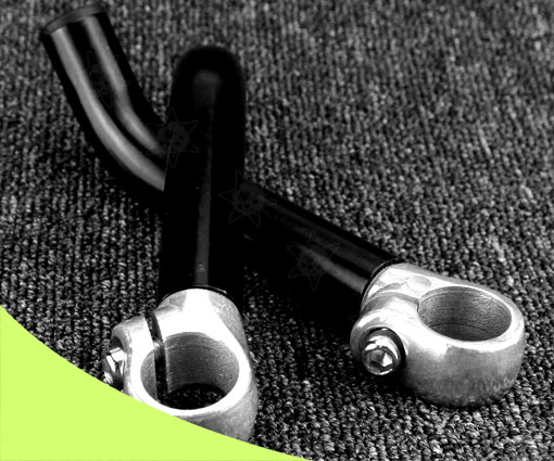 2 PCS Bicyle Mountain Bike Cycle Handlebar Ends Alloy Stem Barends Handle Bar