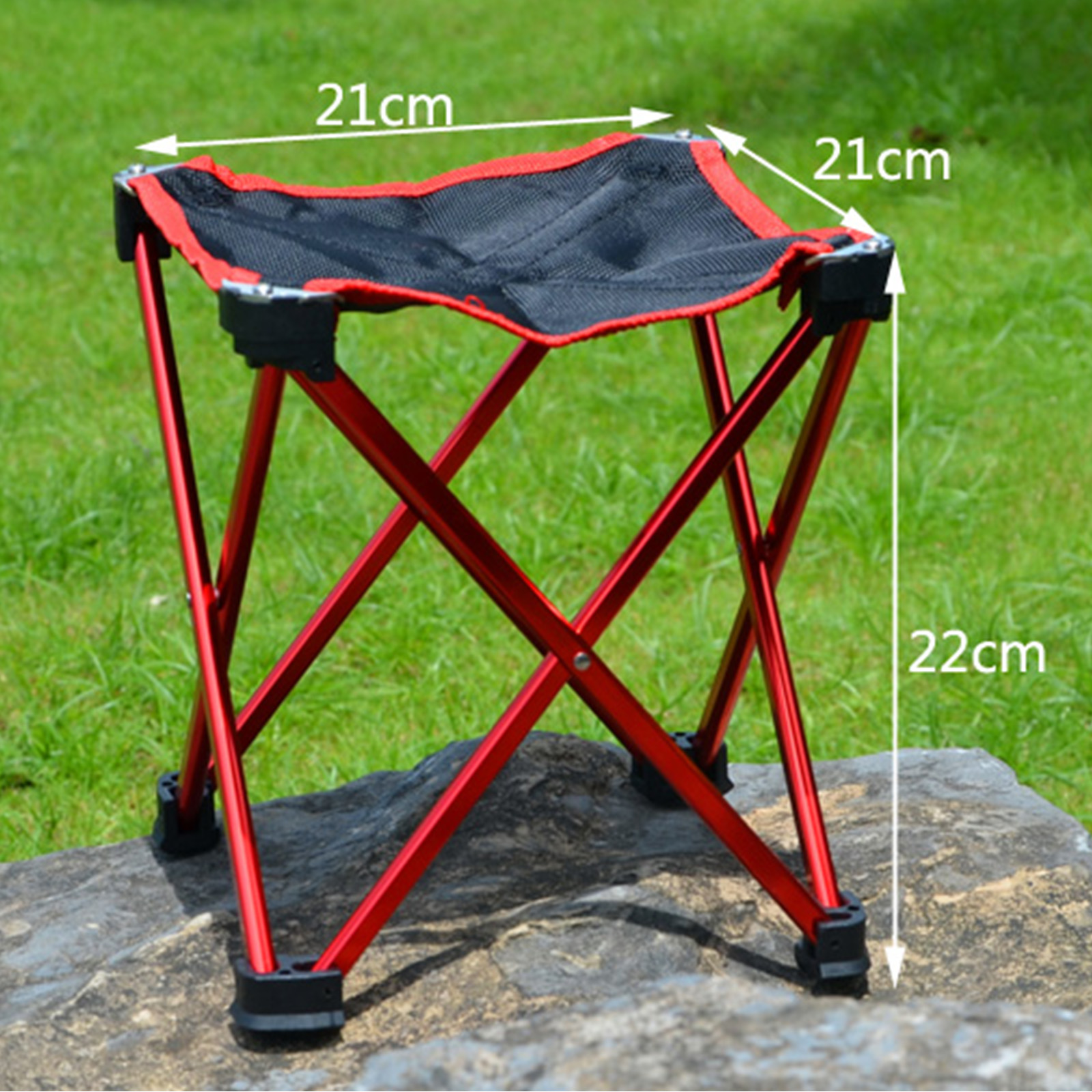 Folding Seat Stool Backpack Chair Fold Up Seat For Fishing