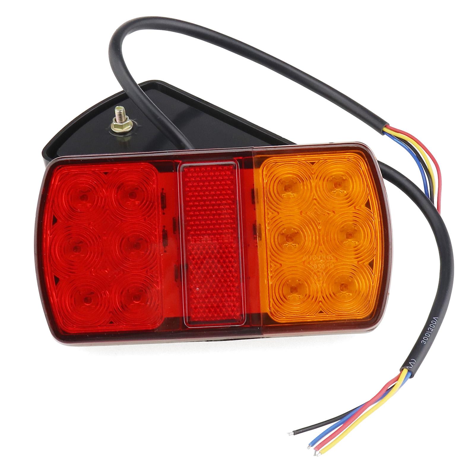 2x Rückleuchten LED Anhänger Rücklicht Heckleuchte Beleuchtung mit ...