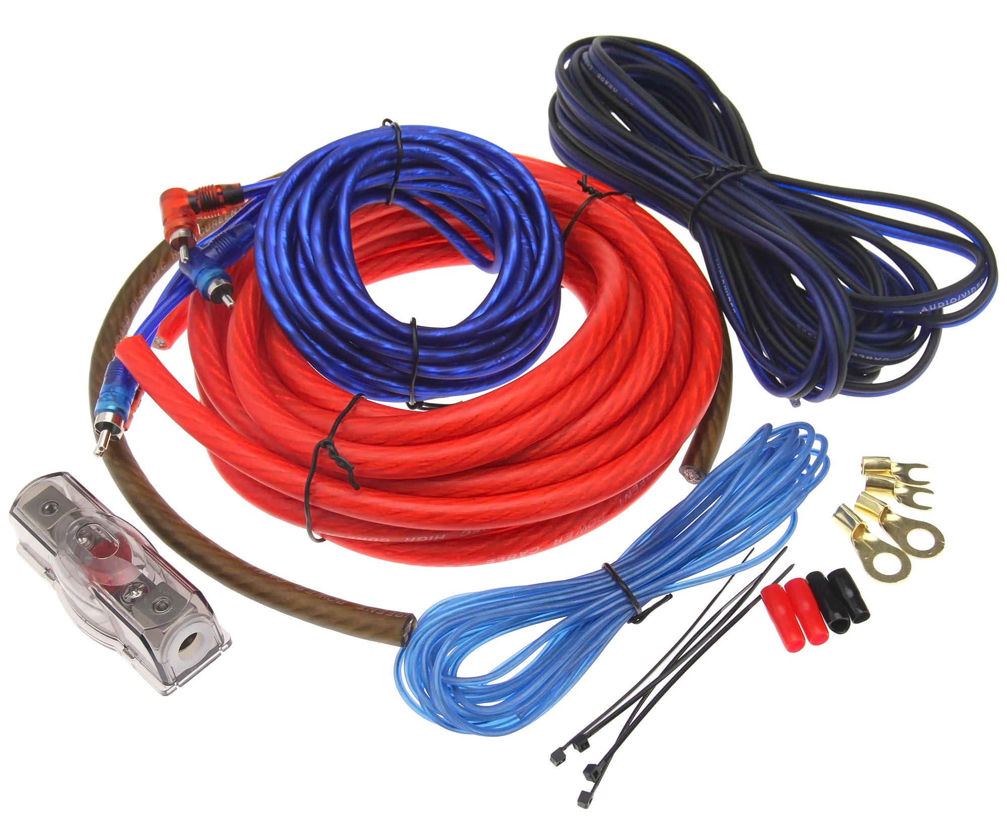 4 awg gauge amp amplifier bass cable wiring kit car audio high rh ebay com