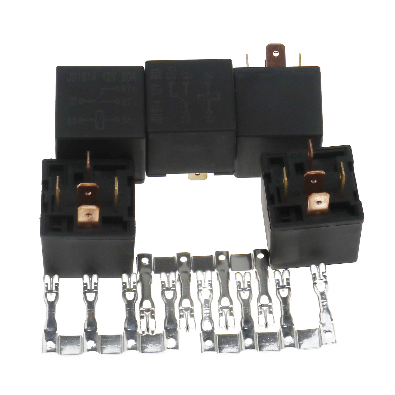 auto 6 relay block holder 5 road electrical fuse box. Black Bedroom Furniture Sets. Home Design Ideas