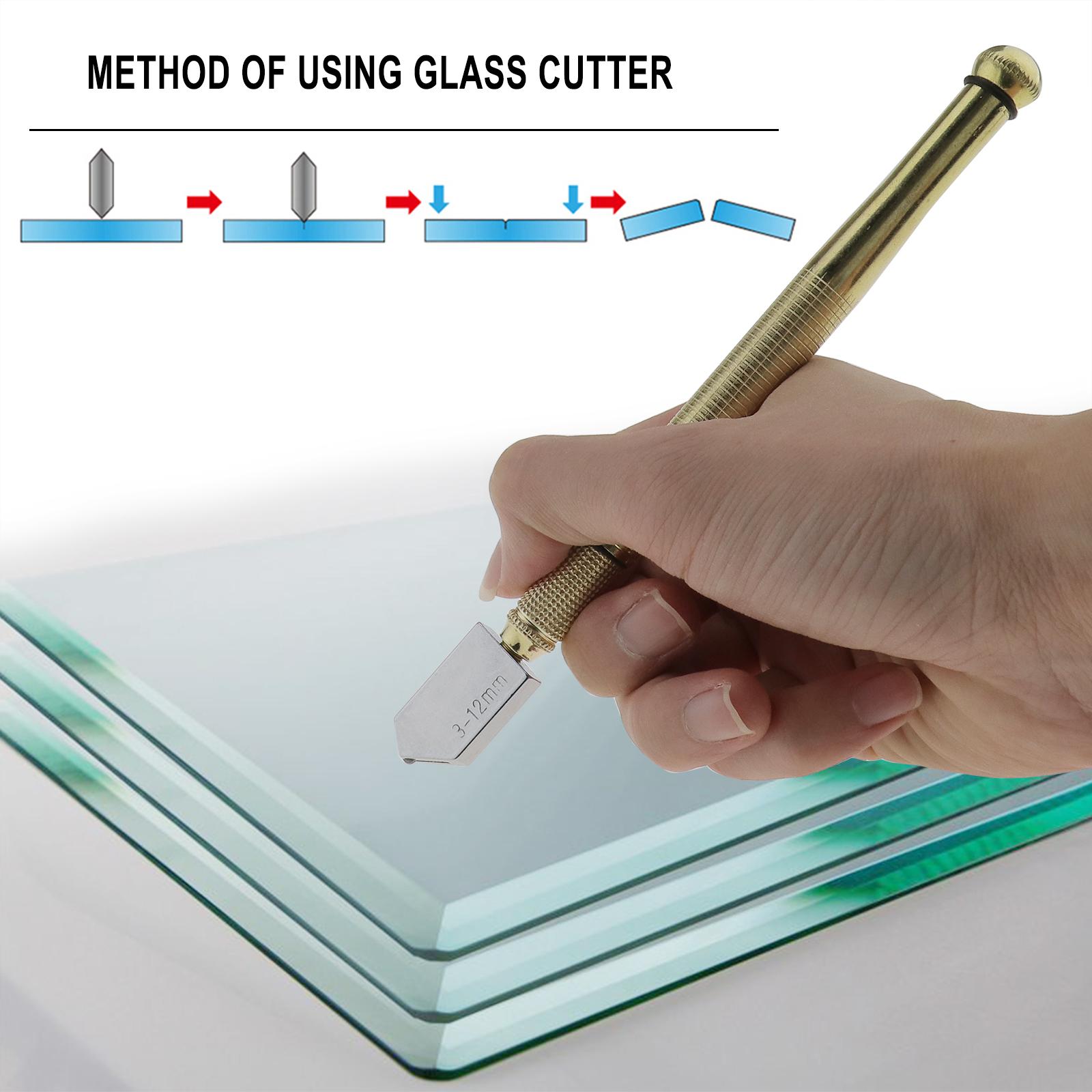 Hand Glasschneider Ölglasschneider Dickglasschneider Cutting Diamantschneider