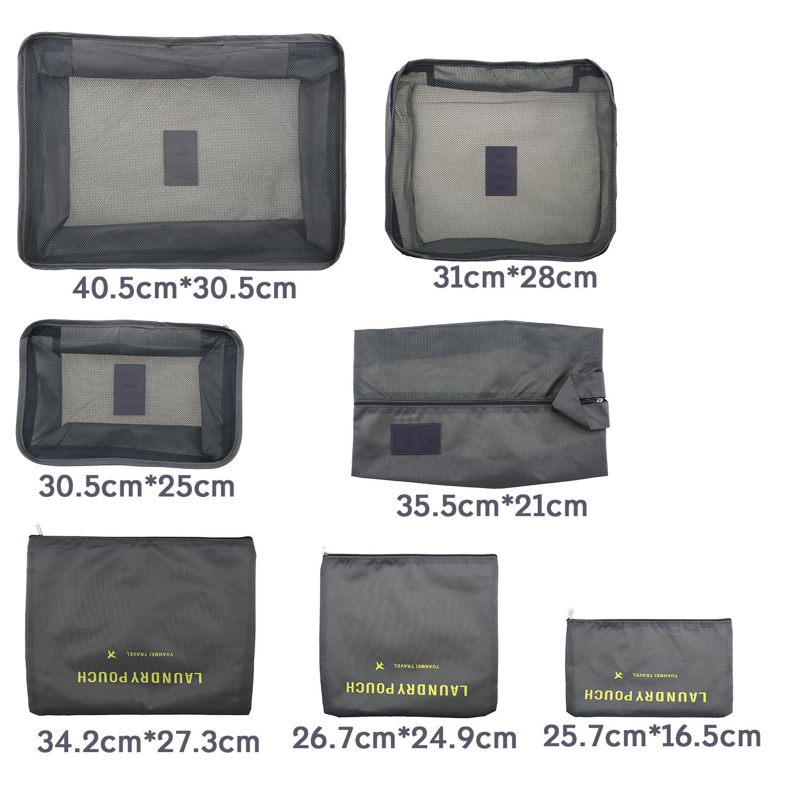 Portable Luggage Storage Bag Organizer Clothes Packing Bag Travelling Bag WT