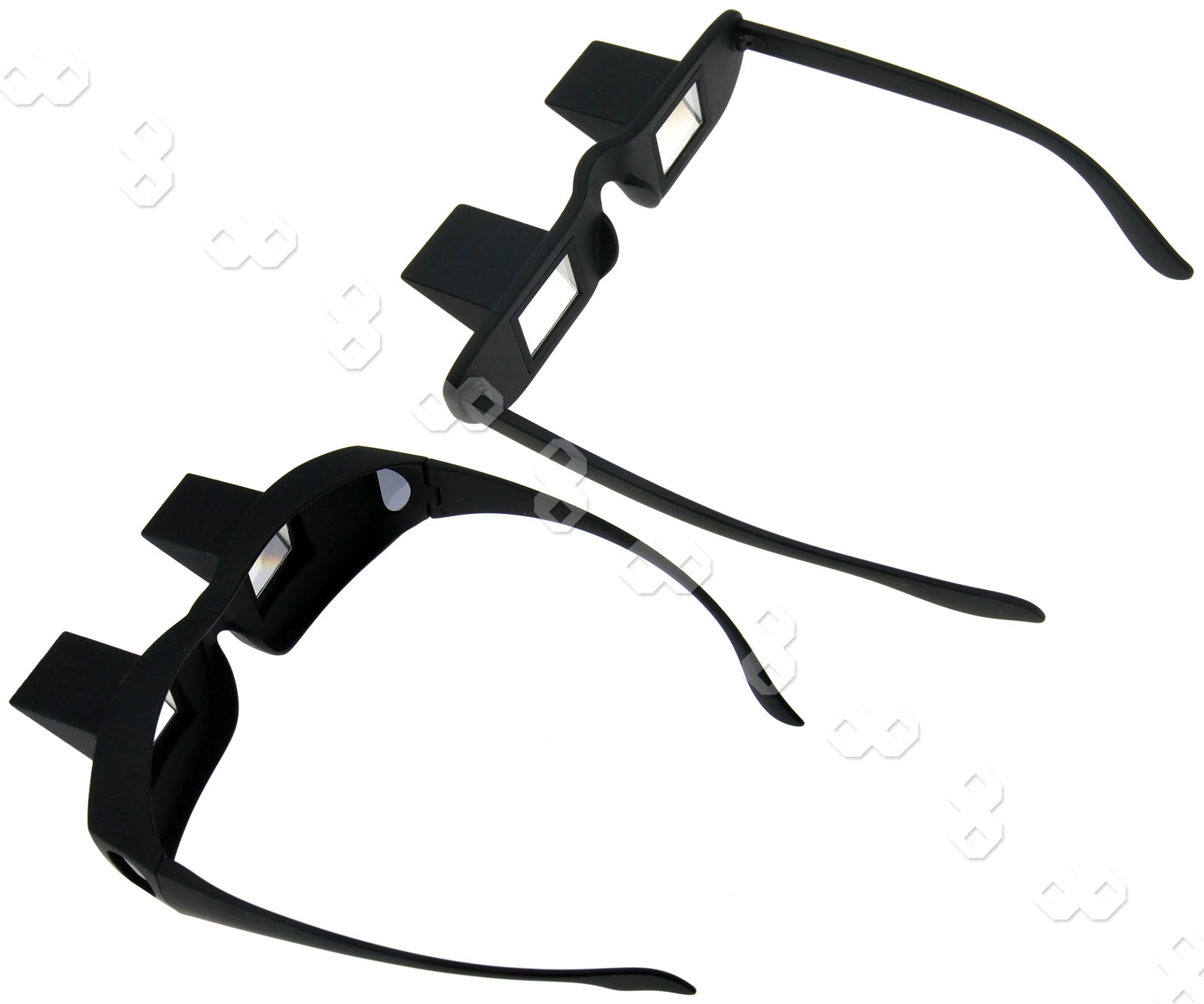 a18ffa3f8c Details about Lazy Lying Down Bed Reading Watching Horizontal Prism Angled  Glasses