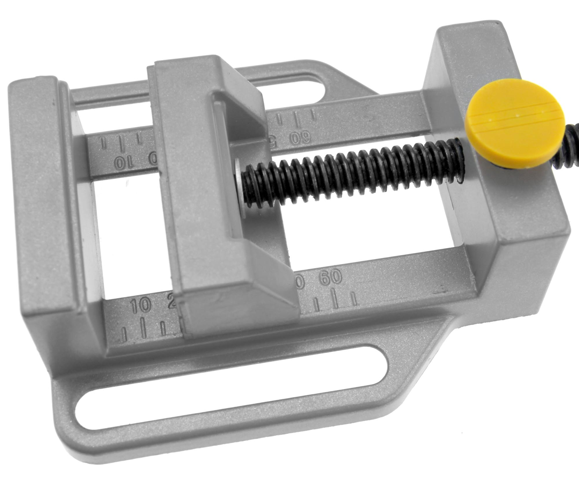 """Drill Press Vise Clamps Quick Release Table Bench Vice Machine Vise Max Jaw 3.5/"""""""