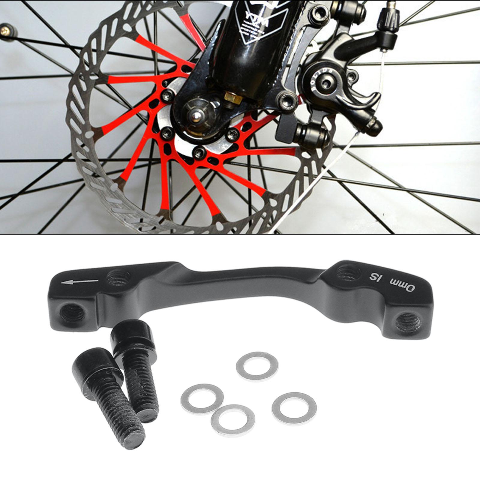 + BICYCLE BIKE Disc Brake Rotor Adaptor 180mm Mountain Bike Front Rear