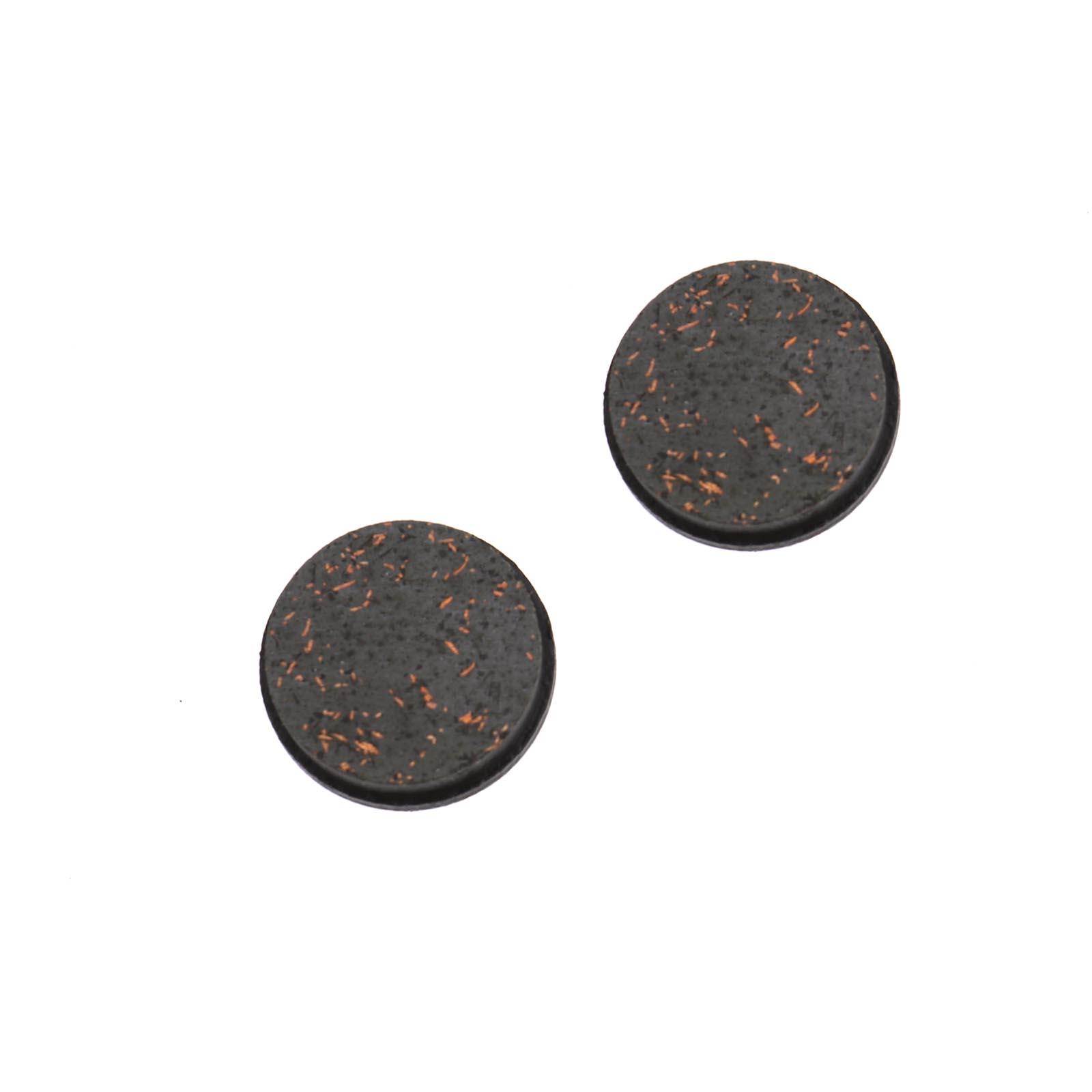 4Pcs For Clarks CMD-5//7//12 Organic 21.5mm Resin Bike Cycling Disc Brake Pads