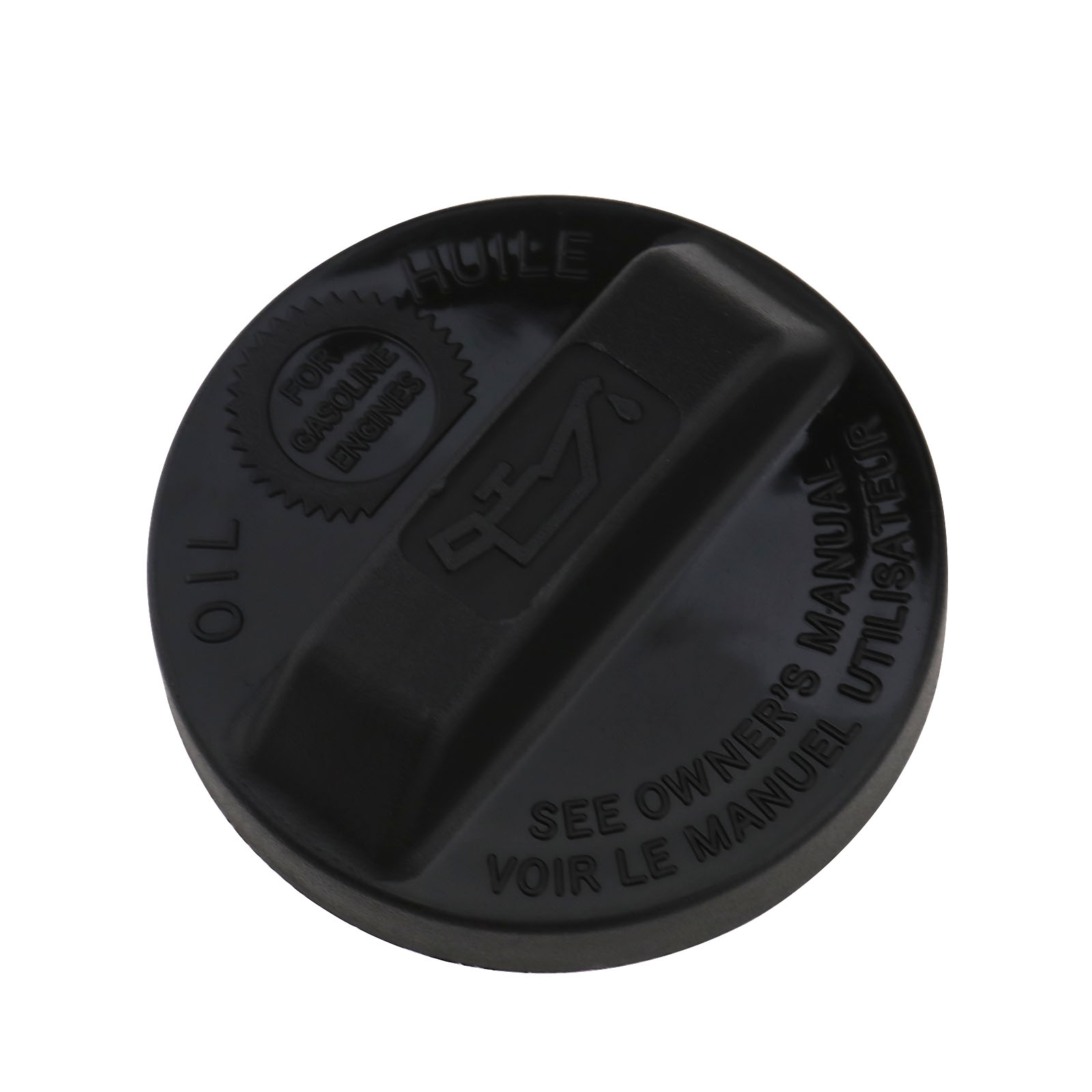 Black ABS Engine Oil Filler Cover Cap For Acura RSX 2003