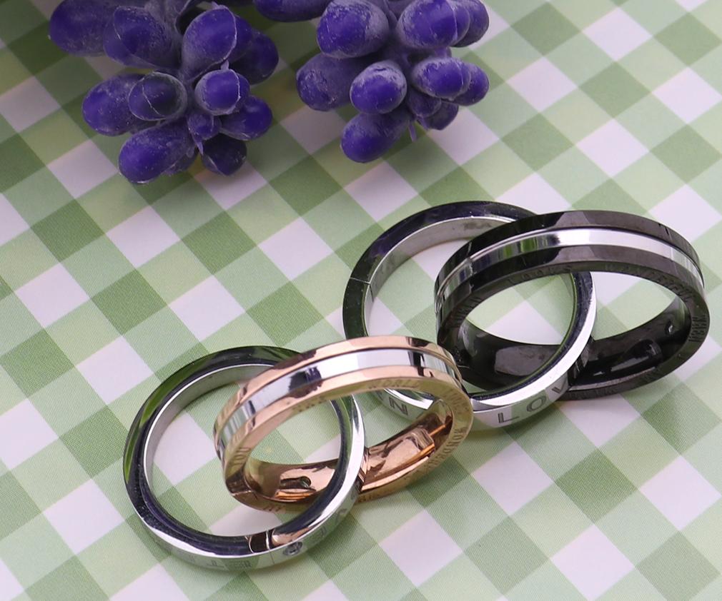 For Boyfriend Girlfriend Love Promise Ring Couple Pendant ...