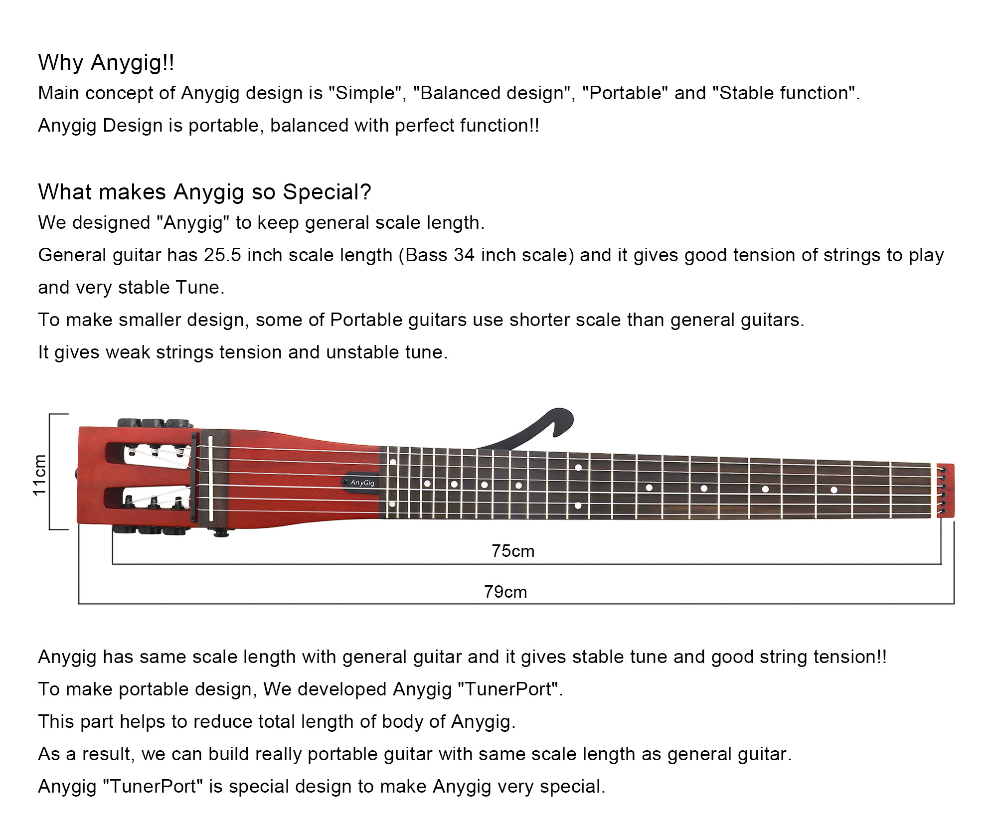 anygig agnse nylon string full scale length classical type traveler guitar w bag 786862963881 ebay. Black Bedroom Furniture Sets. Home Design Ideas
