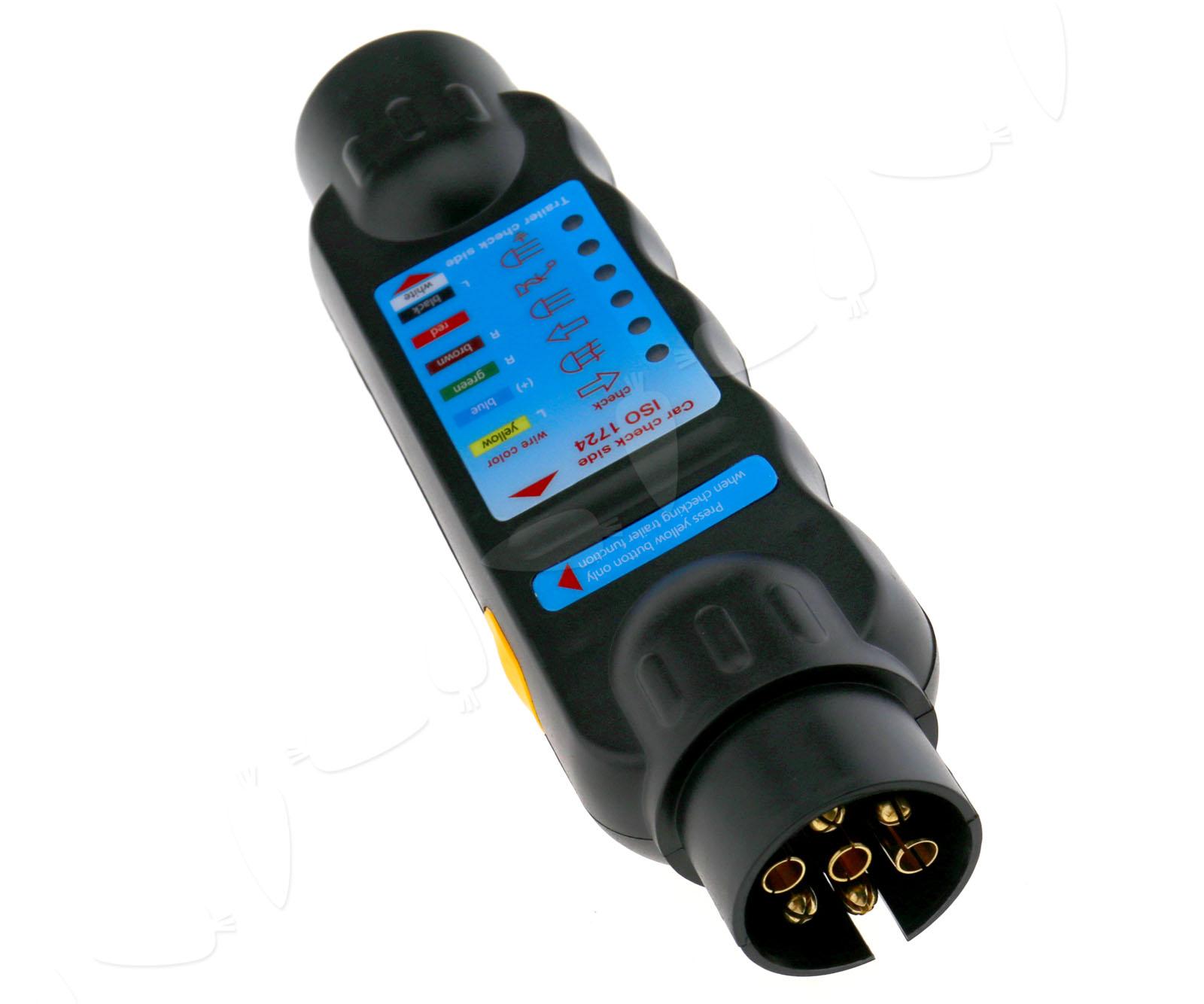 Plug In Circuit Tester : Pin auto towing trailer tow bar light wiring circuit