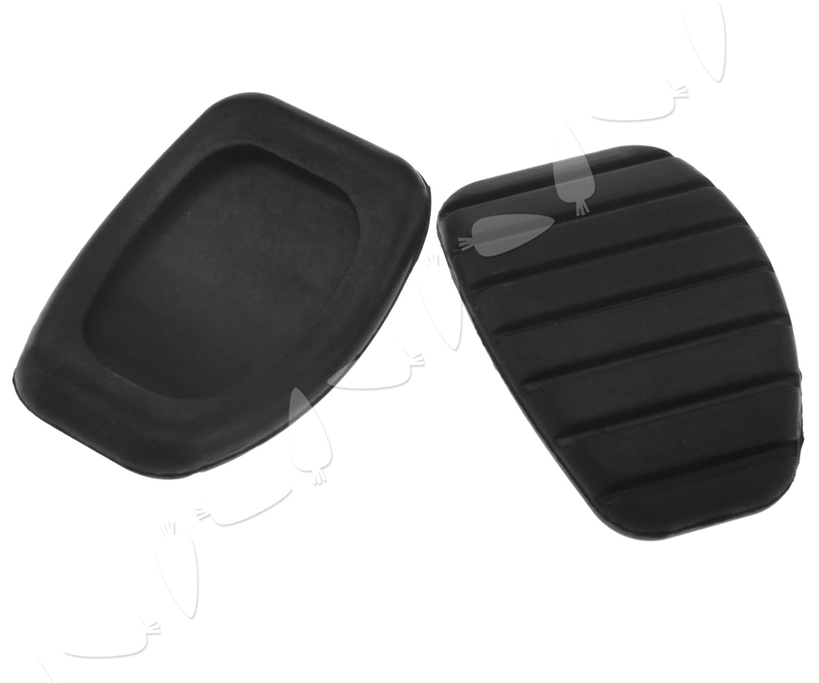 III  7700416724 Black Clutch Pedal Pad Rubber Cover for RENAULT Clio II