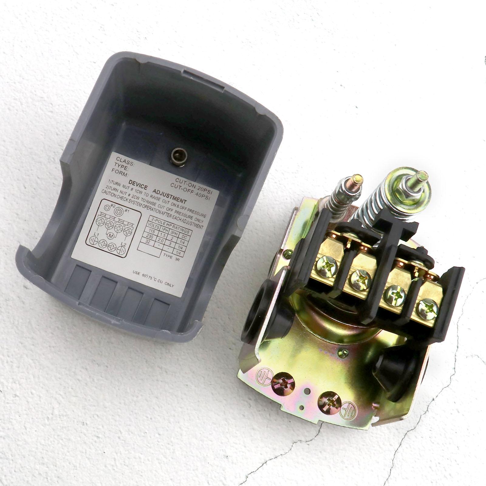 How To Adjust Water Pump Pressure Switch Pump Cuton Pressure And